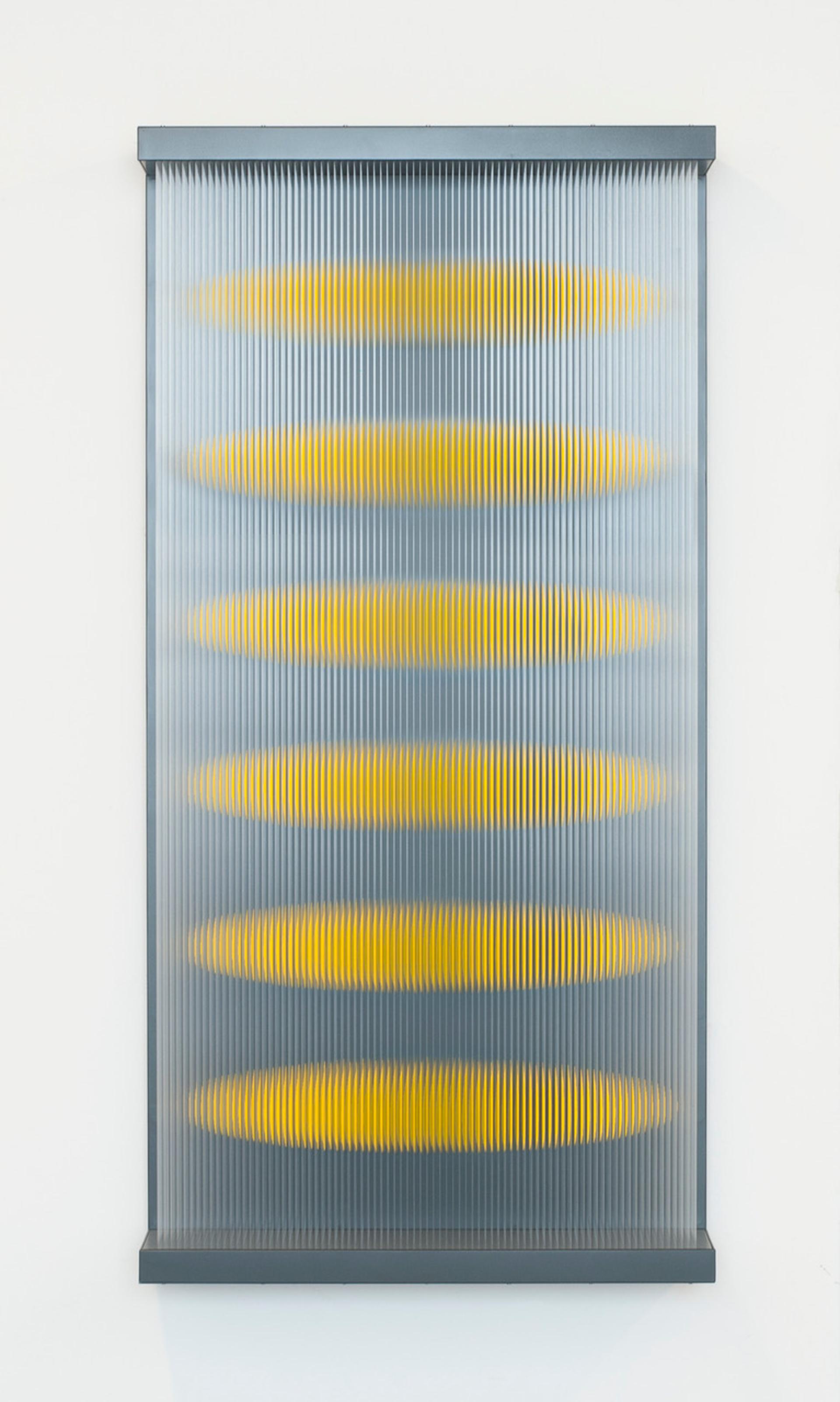 Six Gelb Rotationsellipsoid Wandarbeit by Yoshiyuki Miura