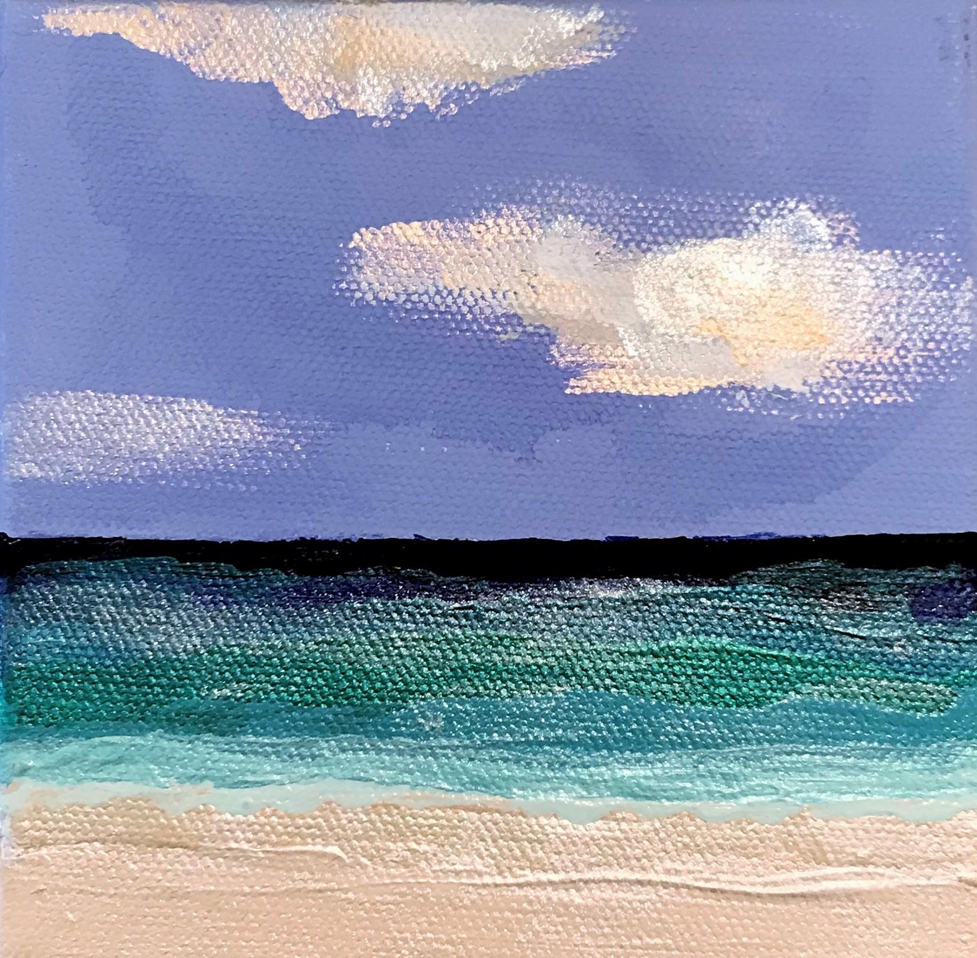 Beachfront No. 5 by Leslie Poteet Busker