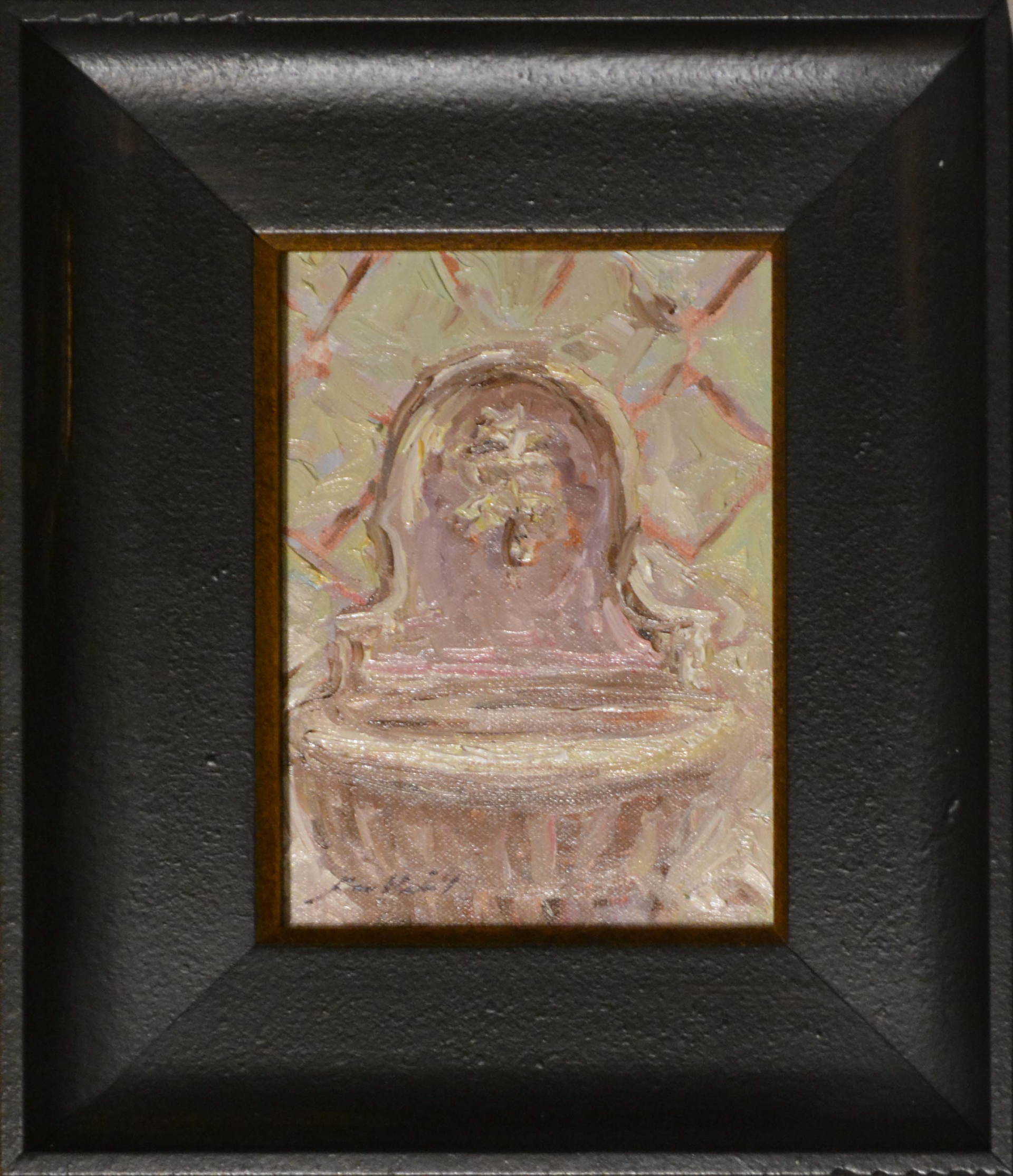 Fountain Off Our Kitchen by Karen Hewitt Hagan