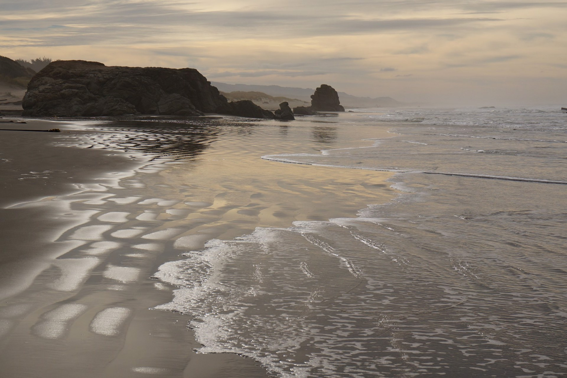 Peaceful Shore by Robin K. Hood (Coos Bay, OR)