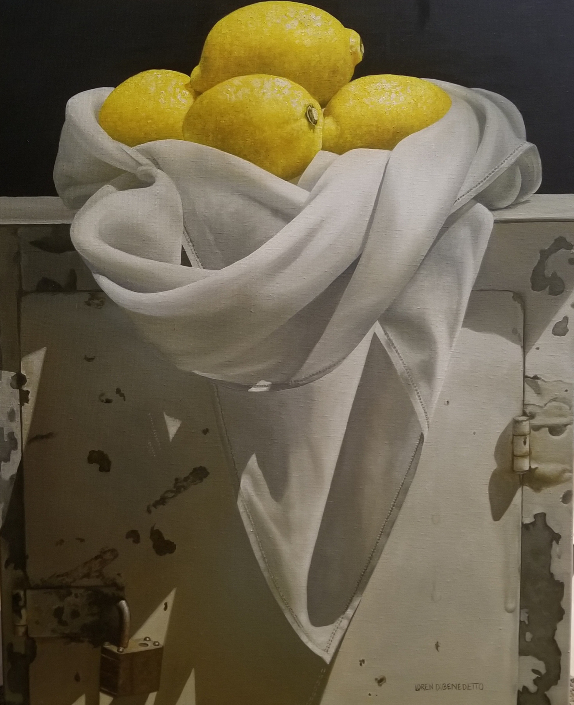 Lemons in Cloth by Loren DiBenedetto, OPA