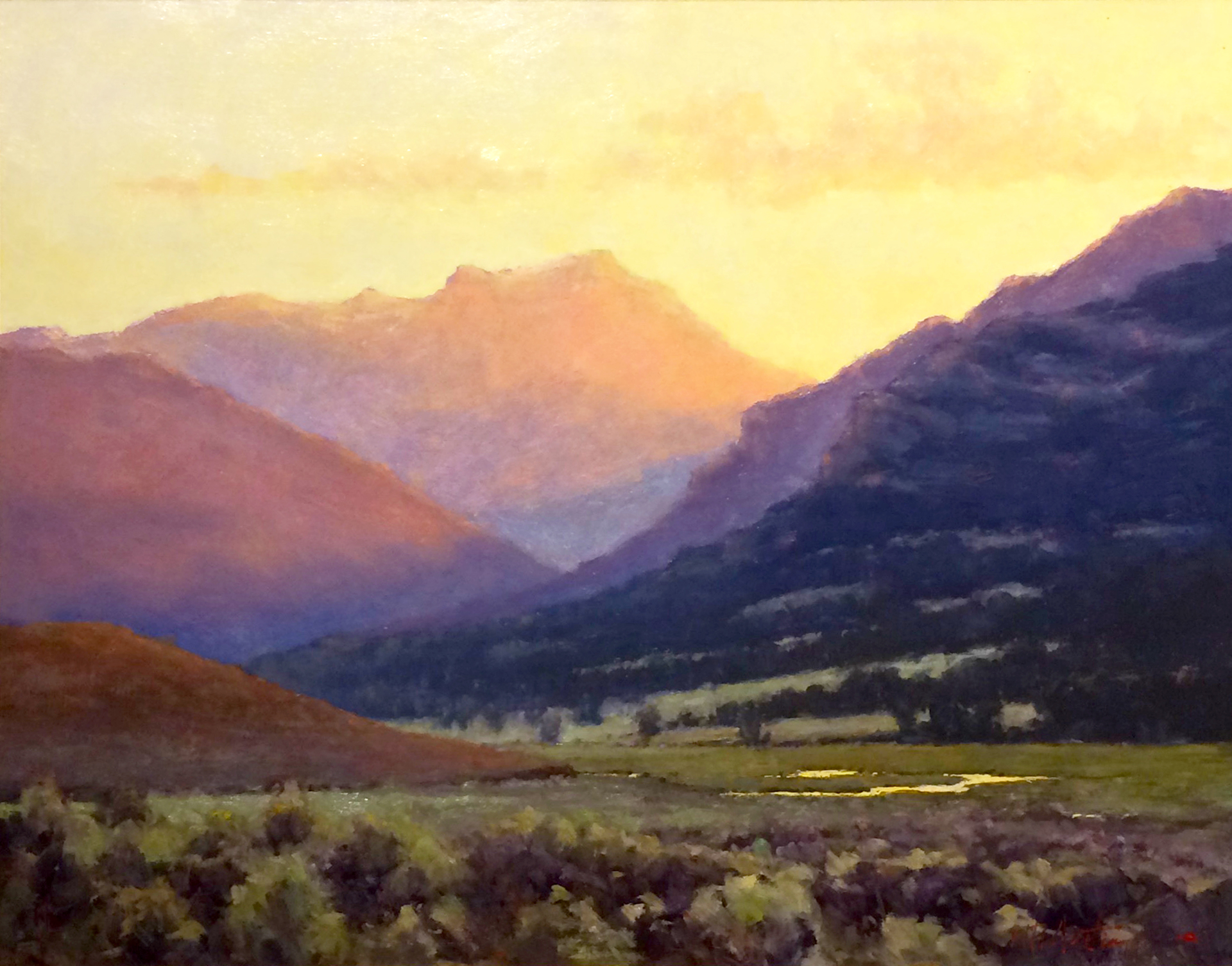 Hidden Valley by Perry Austin