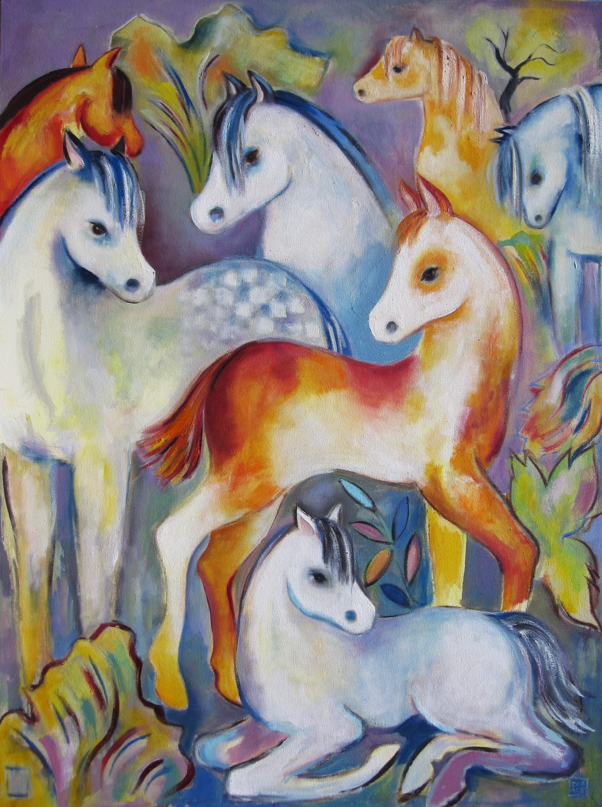 Wild Horses by Zoa Ace