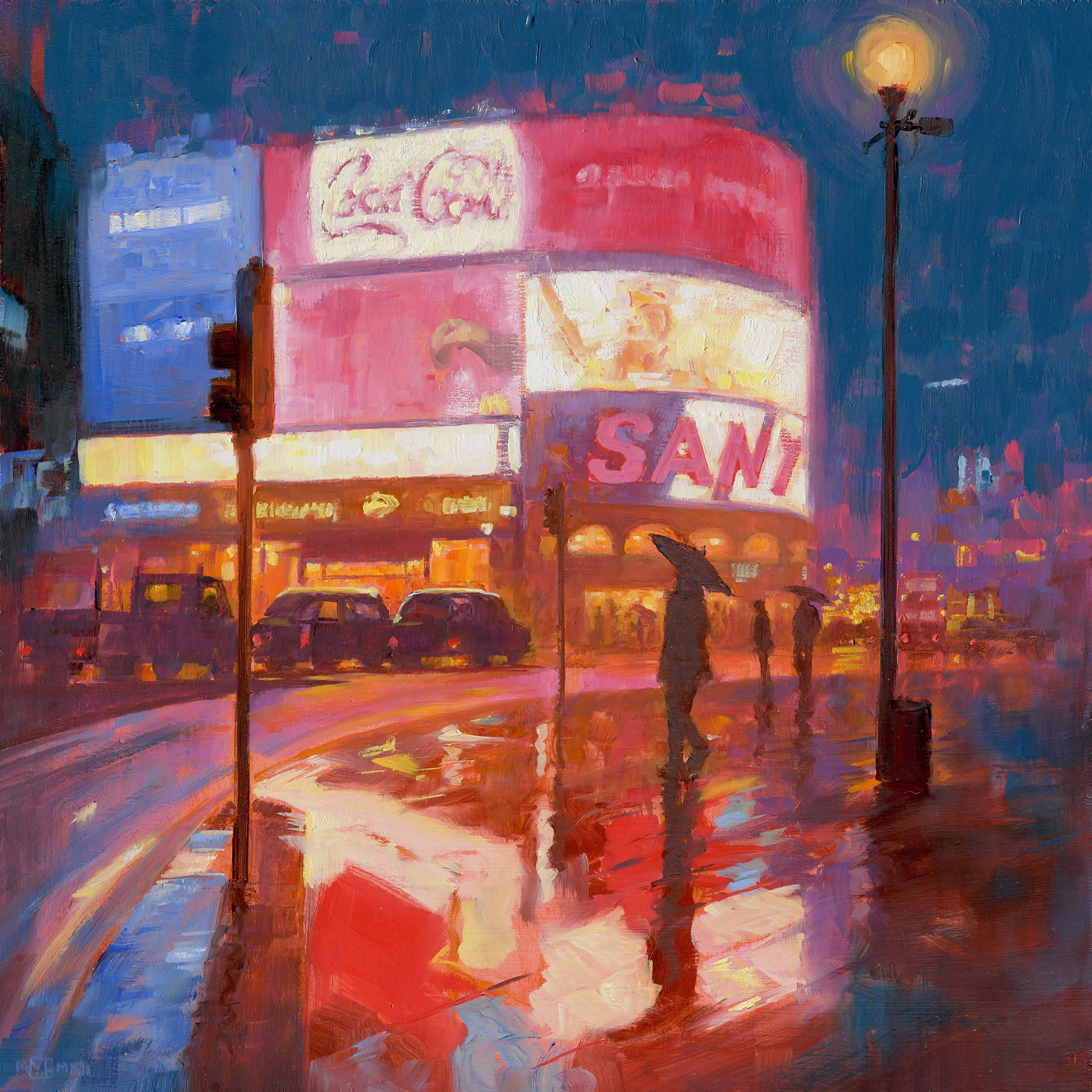Piccadilly Circus by Mark Harrison