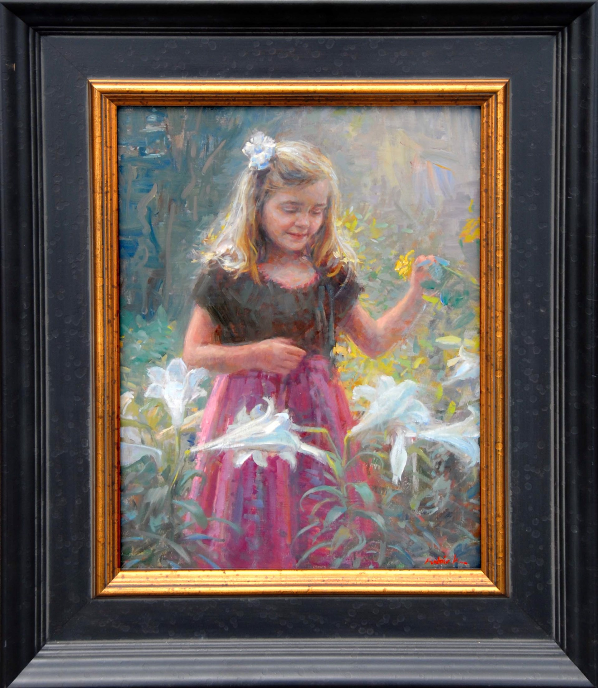 Daisy in the Lilies by William J. Kalwick Jr.