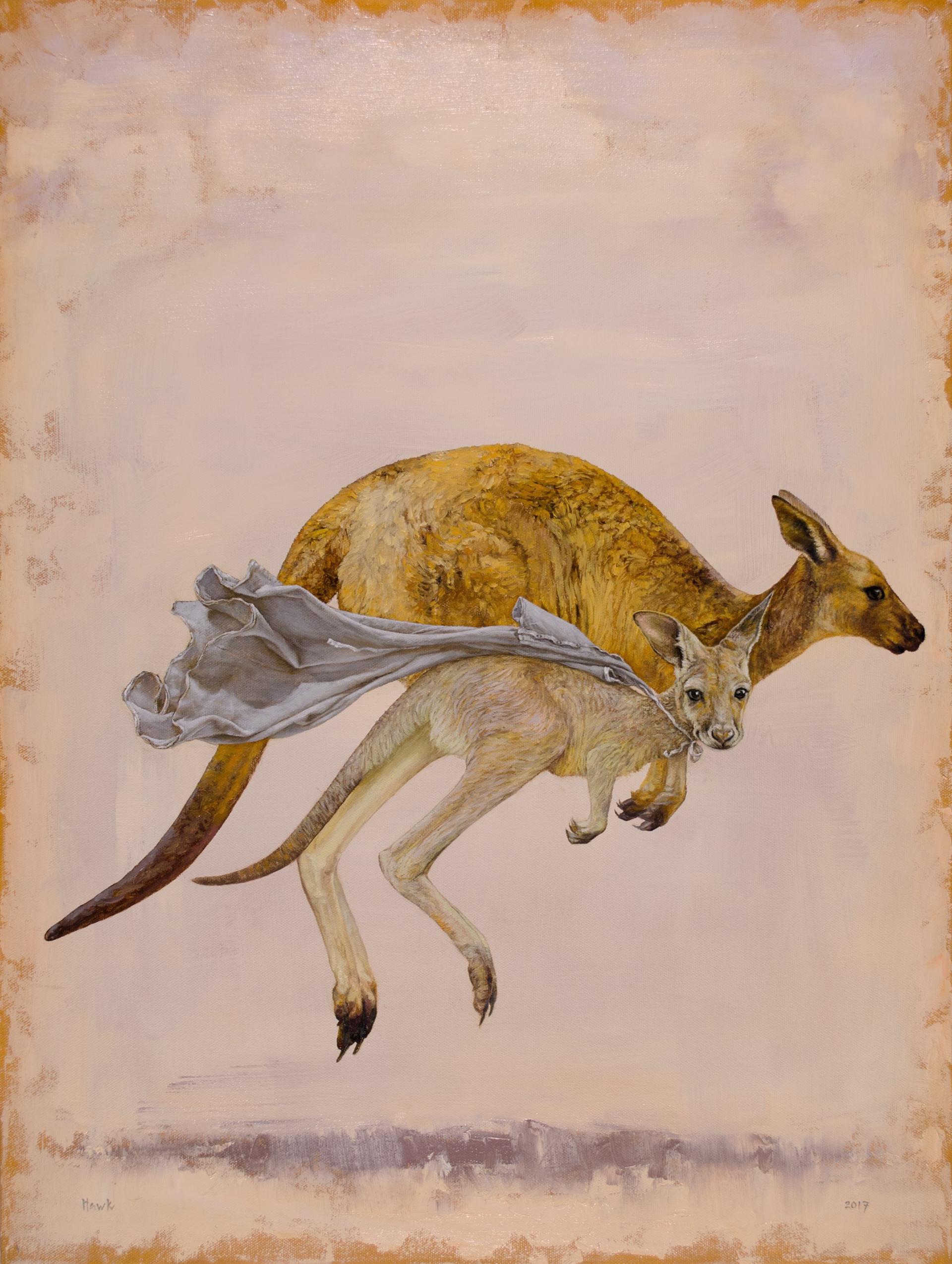 The Children's Hospital Kangaroo commission by Dana Hawk