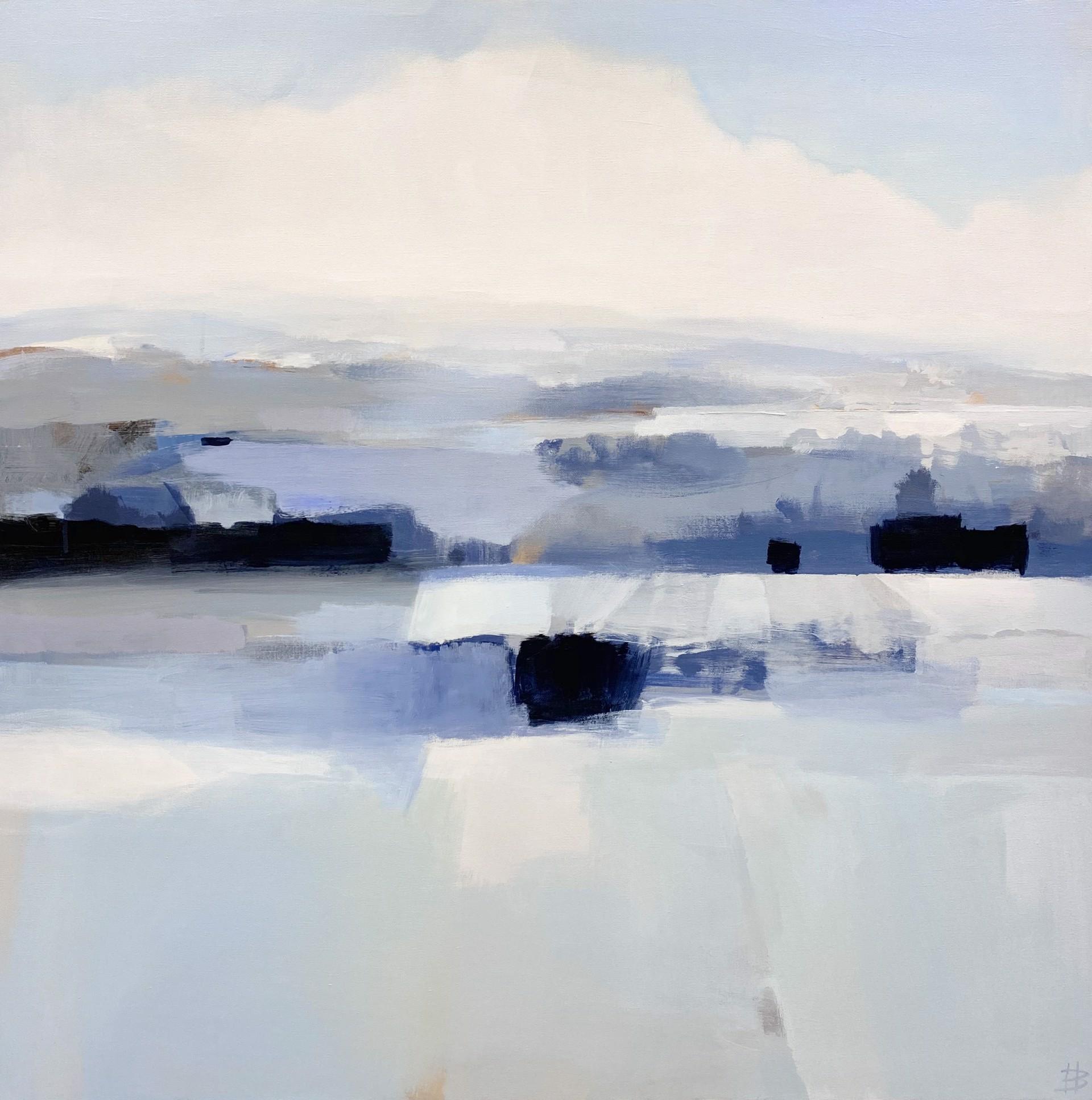 Silvery Landscape by Hannah Bureau