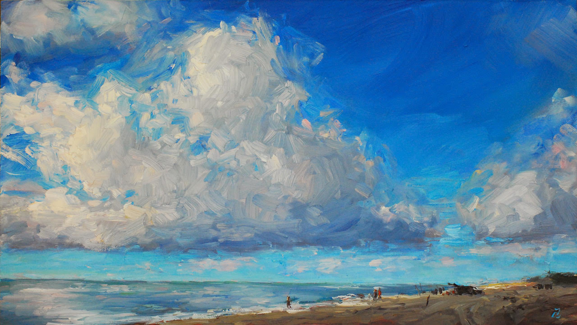 Avon Sky II by Amy Donahue