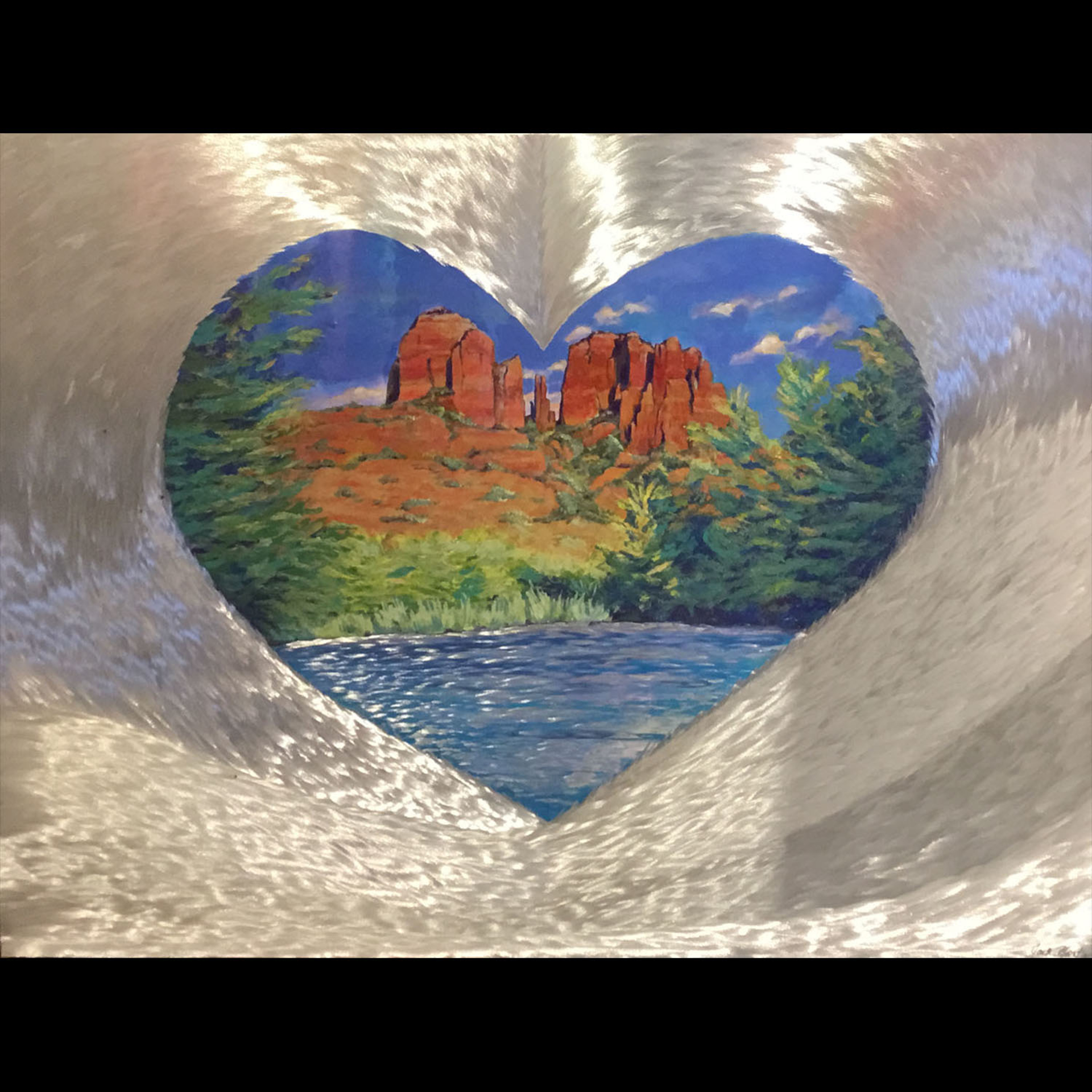 Sedona Vortex of Love by Jack Nordby