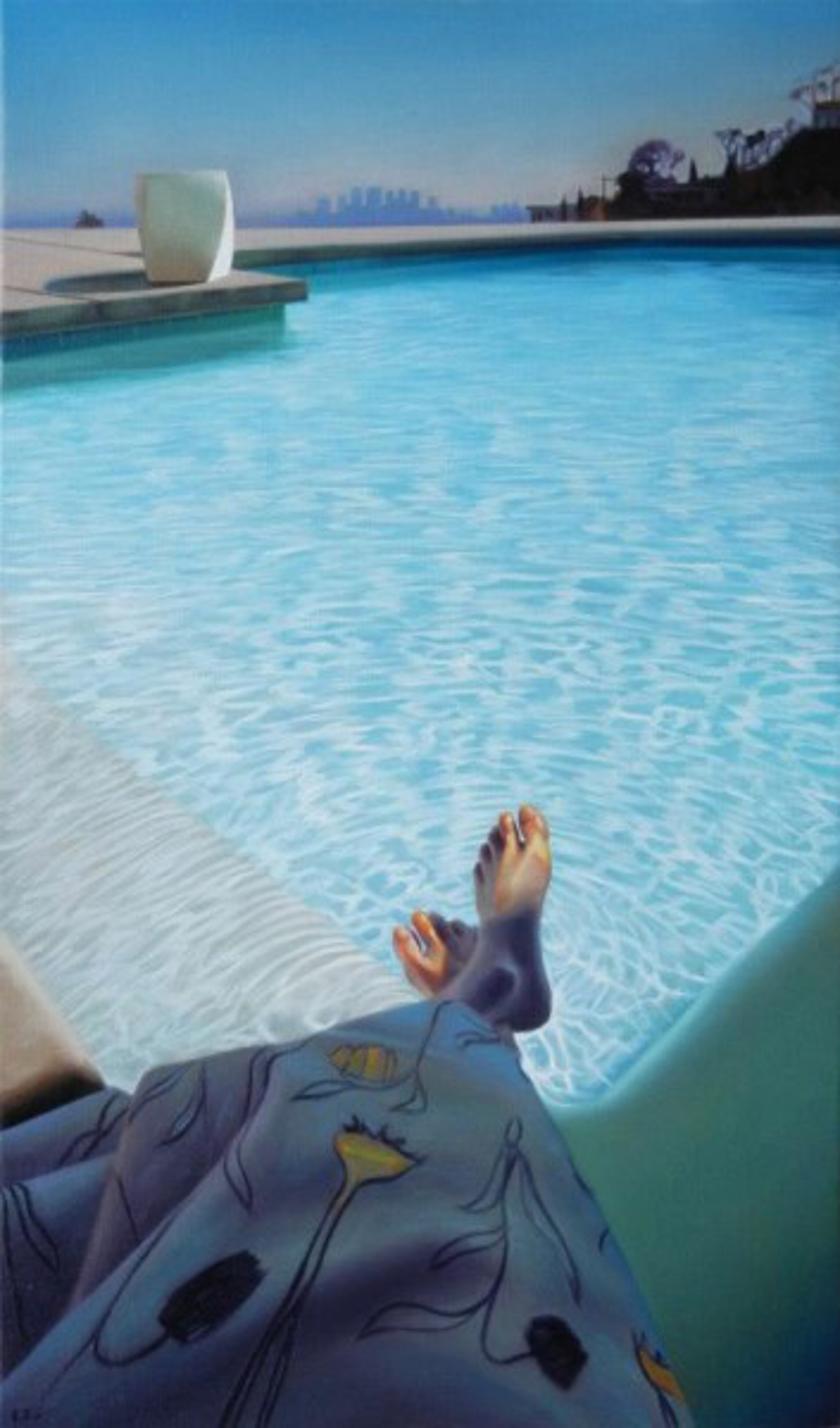 Stahl House Pool (S/N) by Carrie Graber