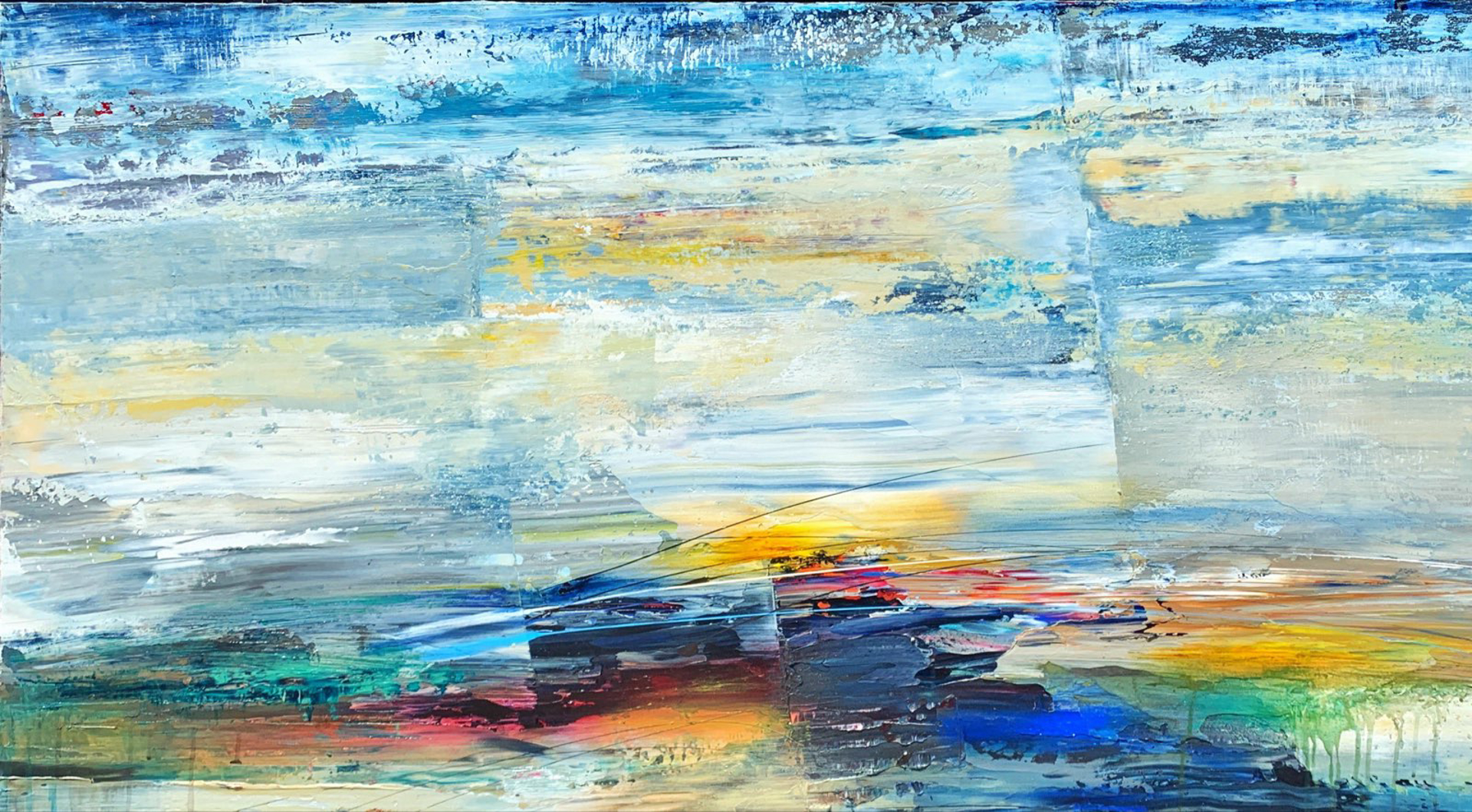 Laguna Sunrise by Pietro Adamo