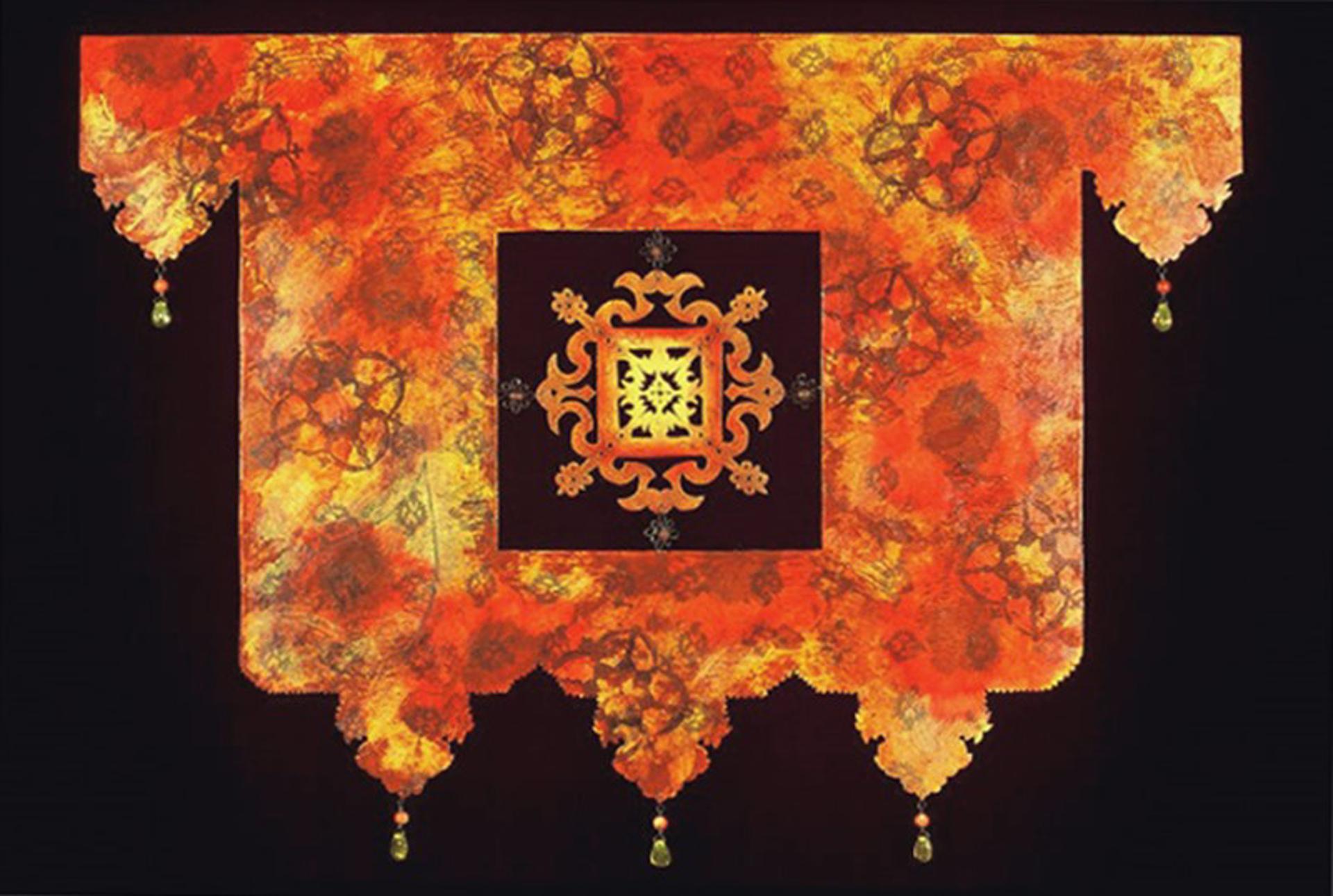 Bodhisattva's Curtain by June Sekiguchi