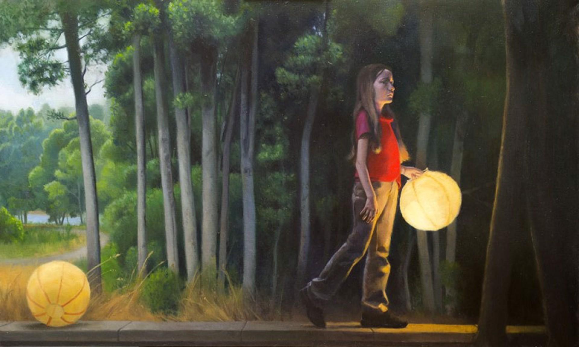 Dark Woods and Lanterns by Ocean Quigley