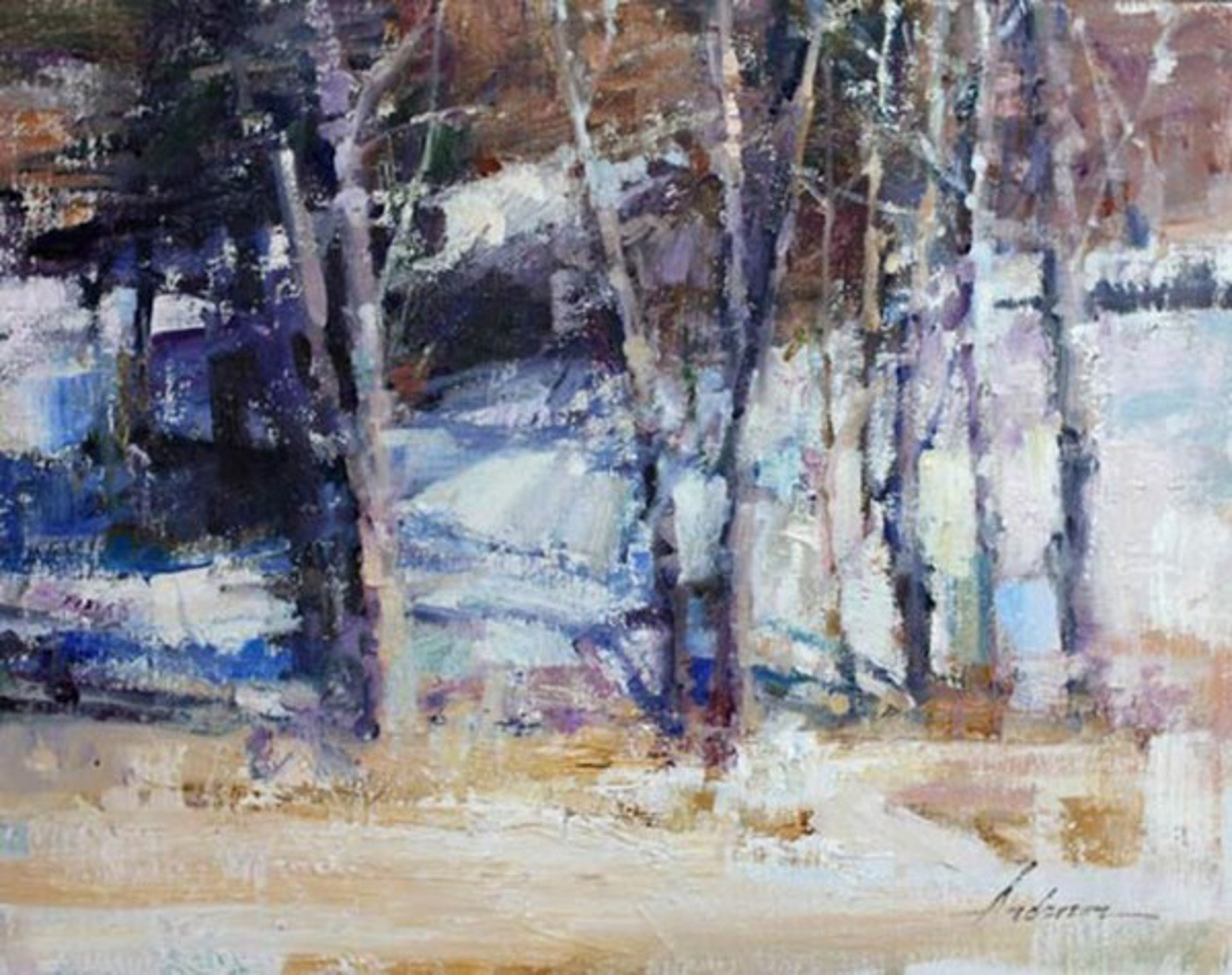 Along the Road by Carolyn Anderson