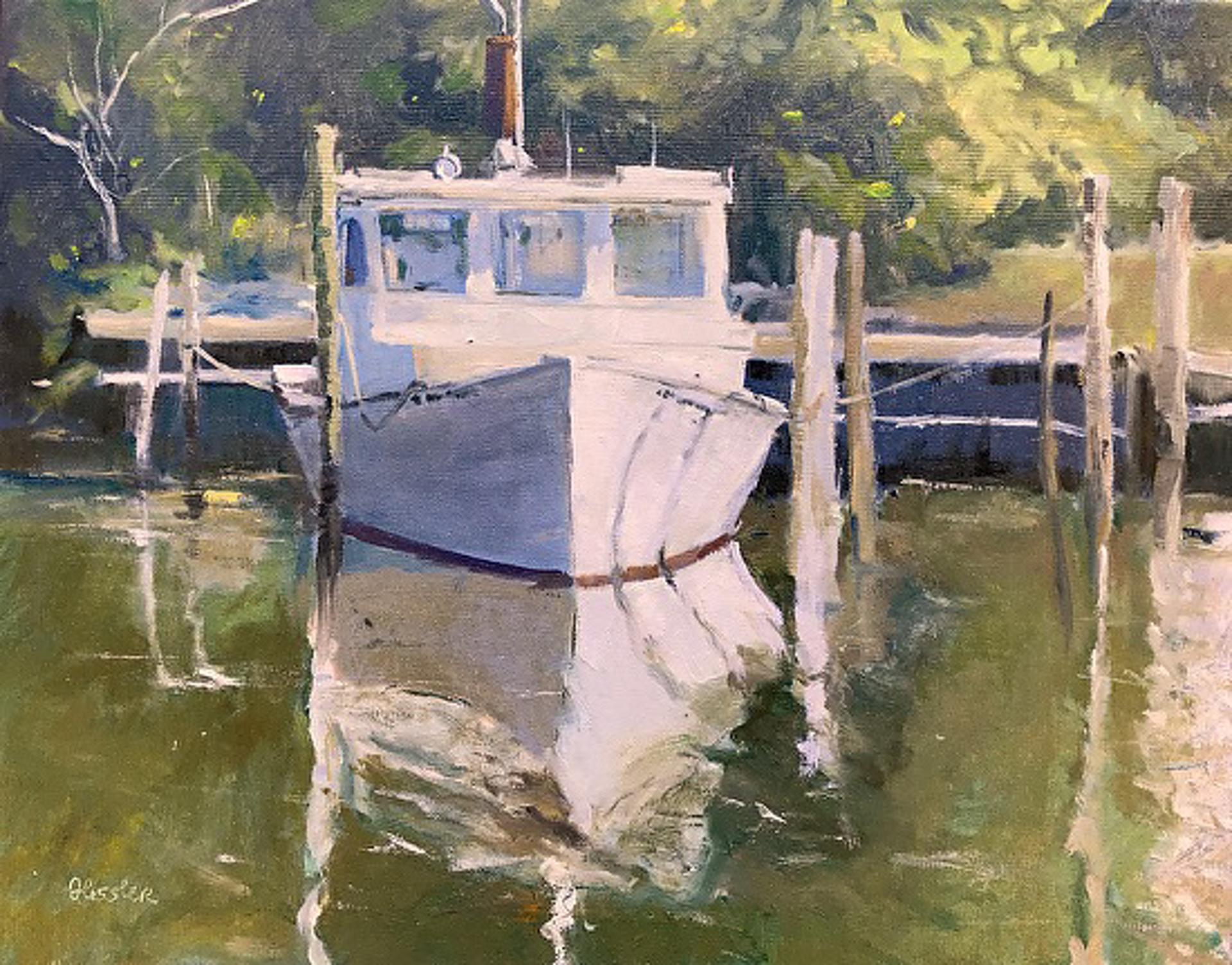 Shrimper, Davis, North Harbor by Steve Hessler