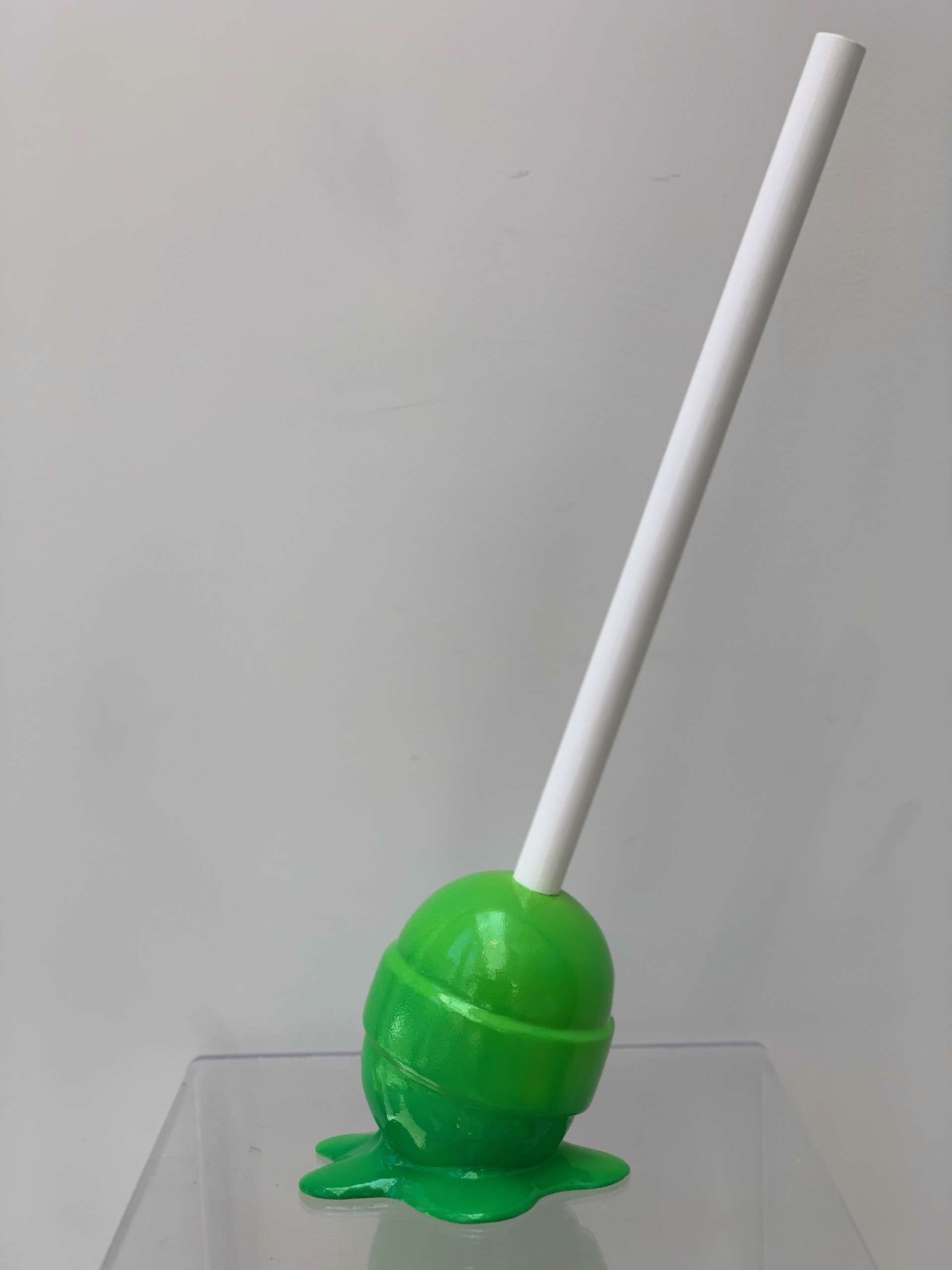 The Sweet life small Green lollipop by Elena Bulatova