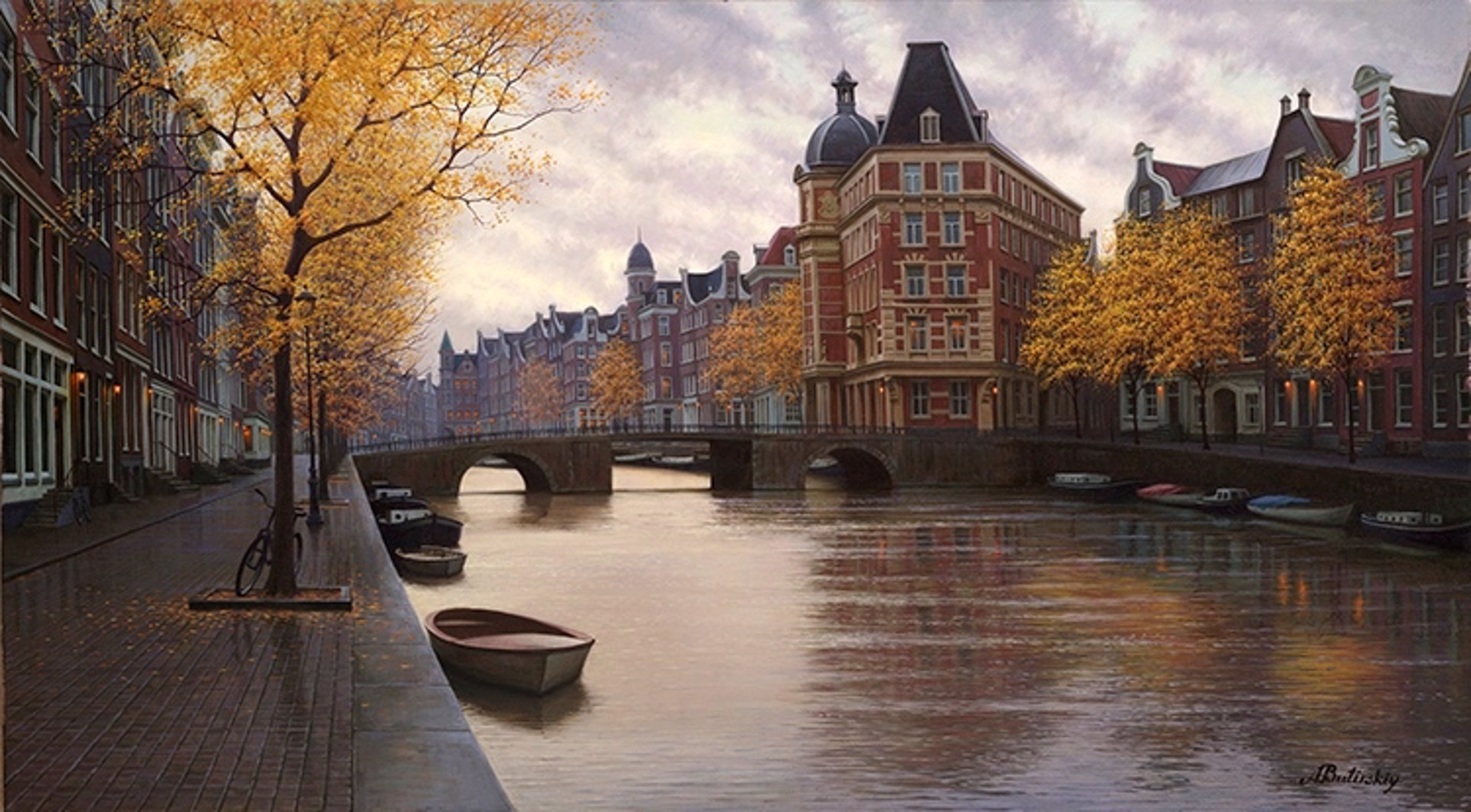 September Morn by Alexei Butirskiy