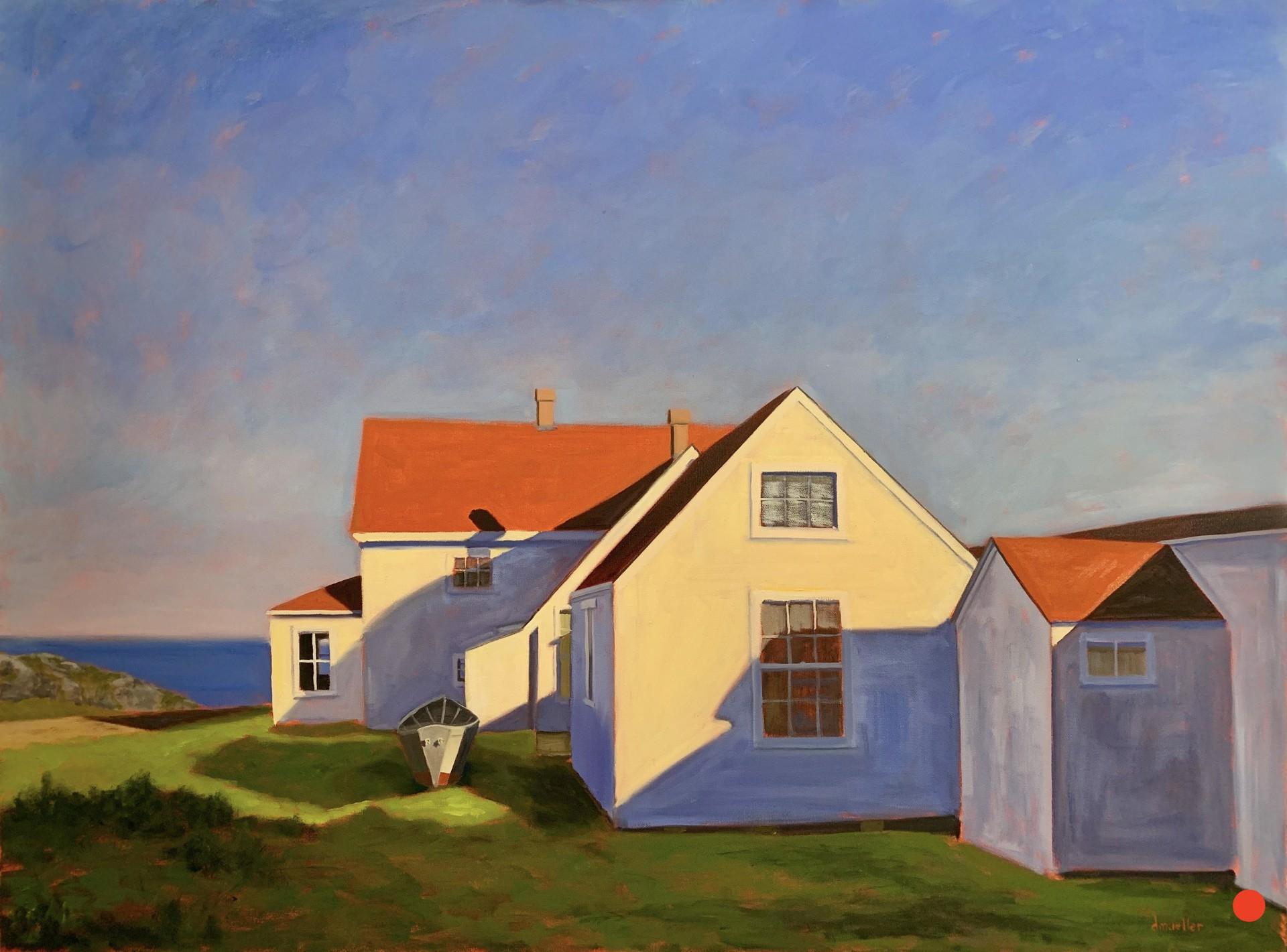 Monhegan Blues by Debbie Mueller