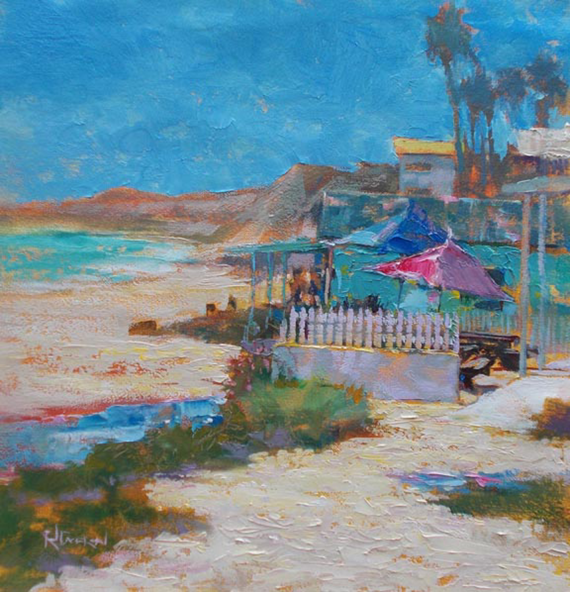 Crystal Cove Day by Rod Cameron