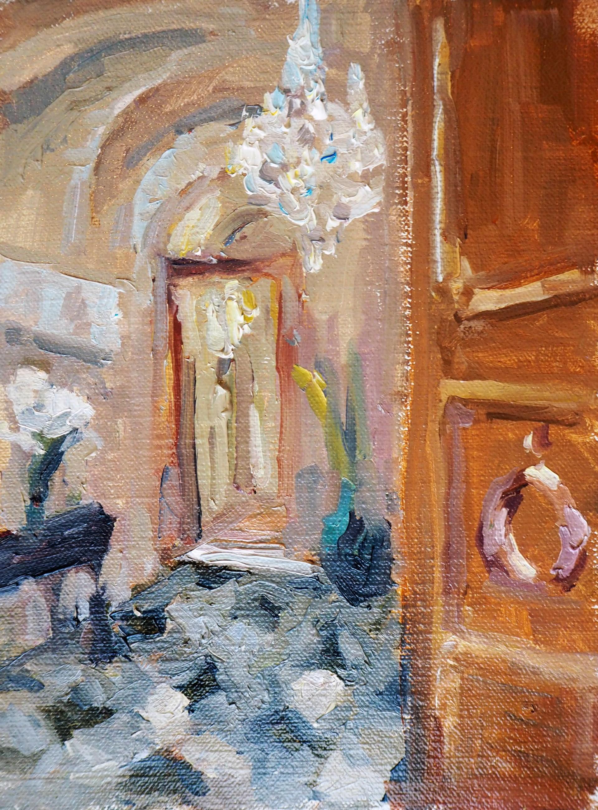 Chandeliers in Spoleto Italy by Karen Hewitt Hagan