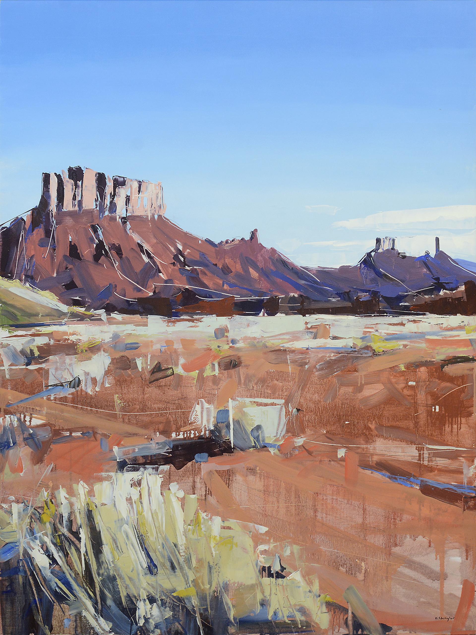 Moab Plateaus by David Shingler
