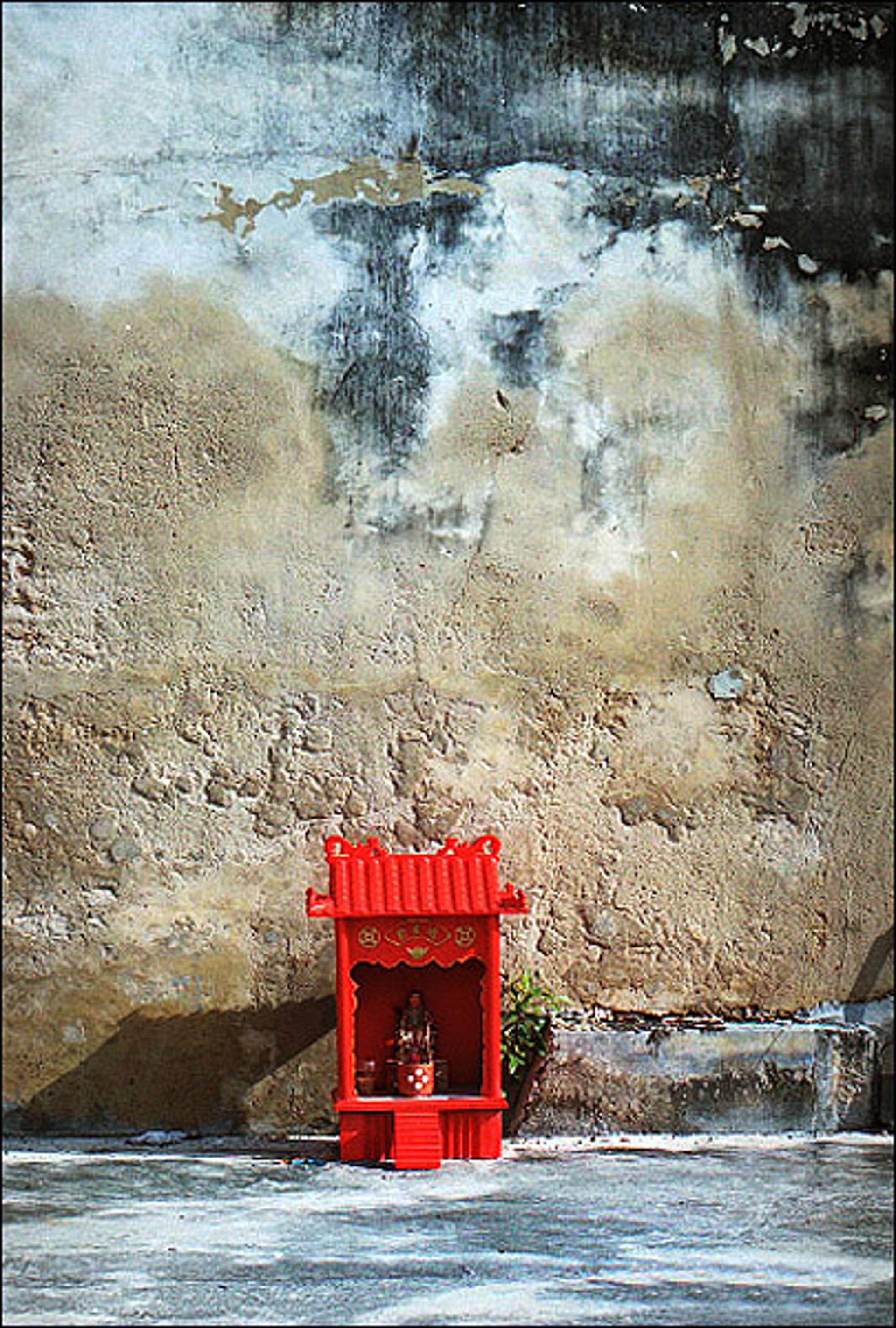 Little Red Shrine by Oksana Perkins