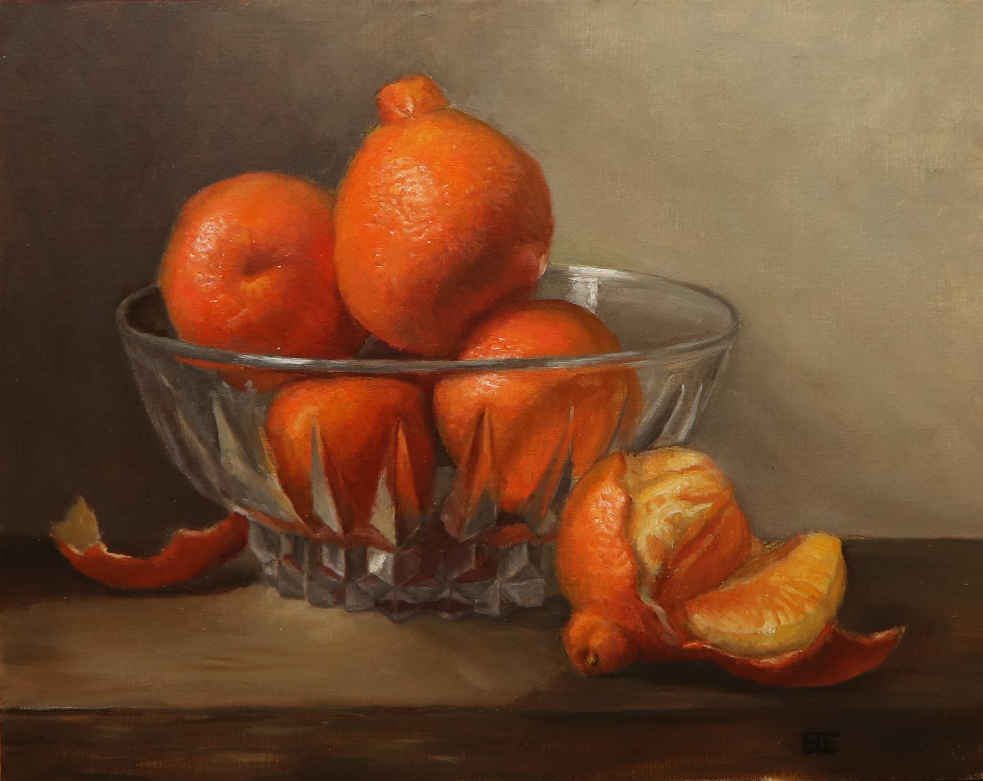 Florida Oranges by Barbara Efchak