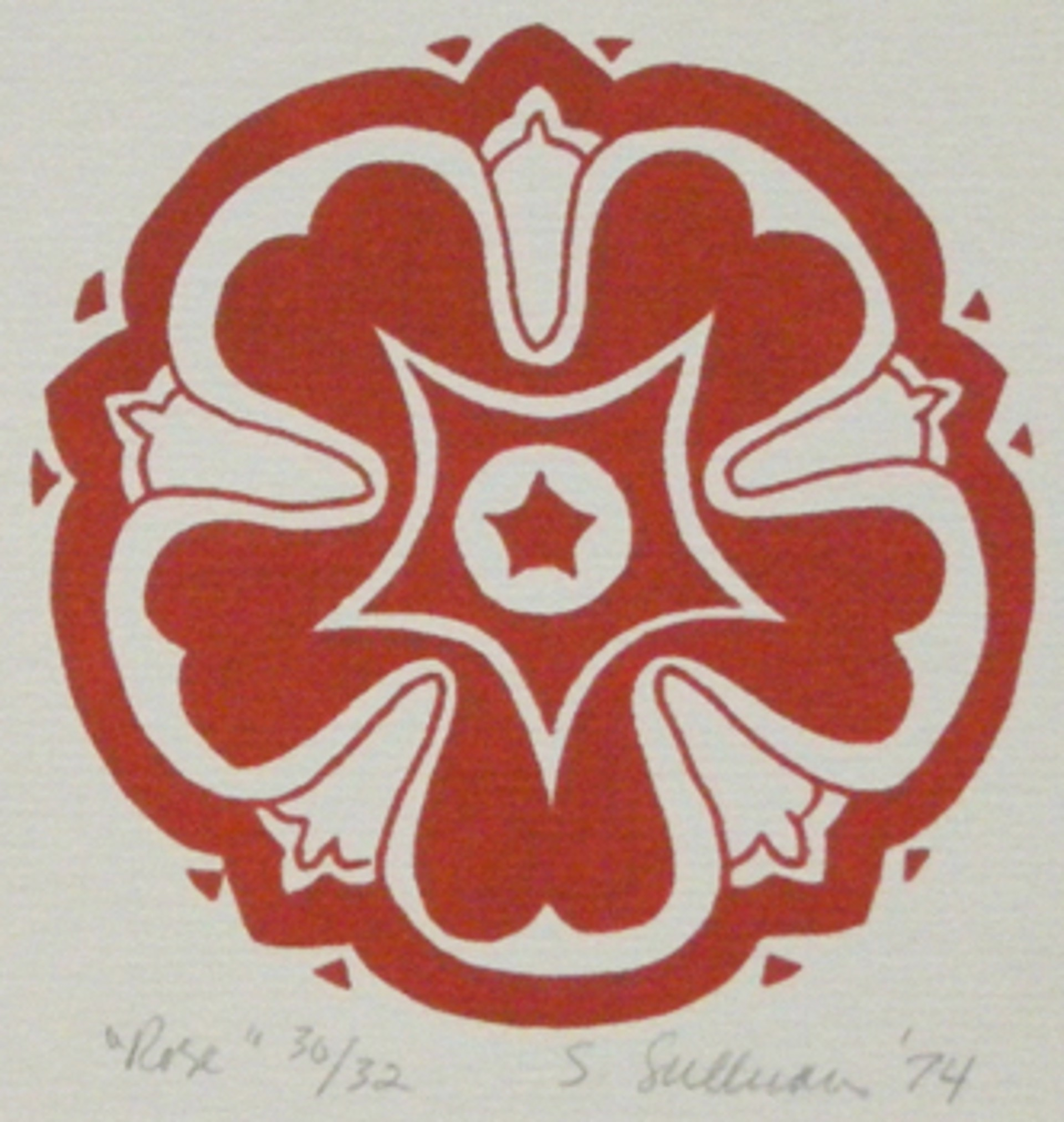 Rose by Stella Sullivan Prints