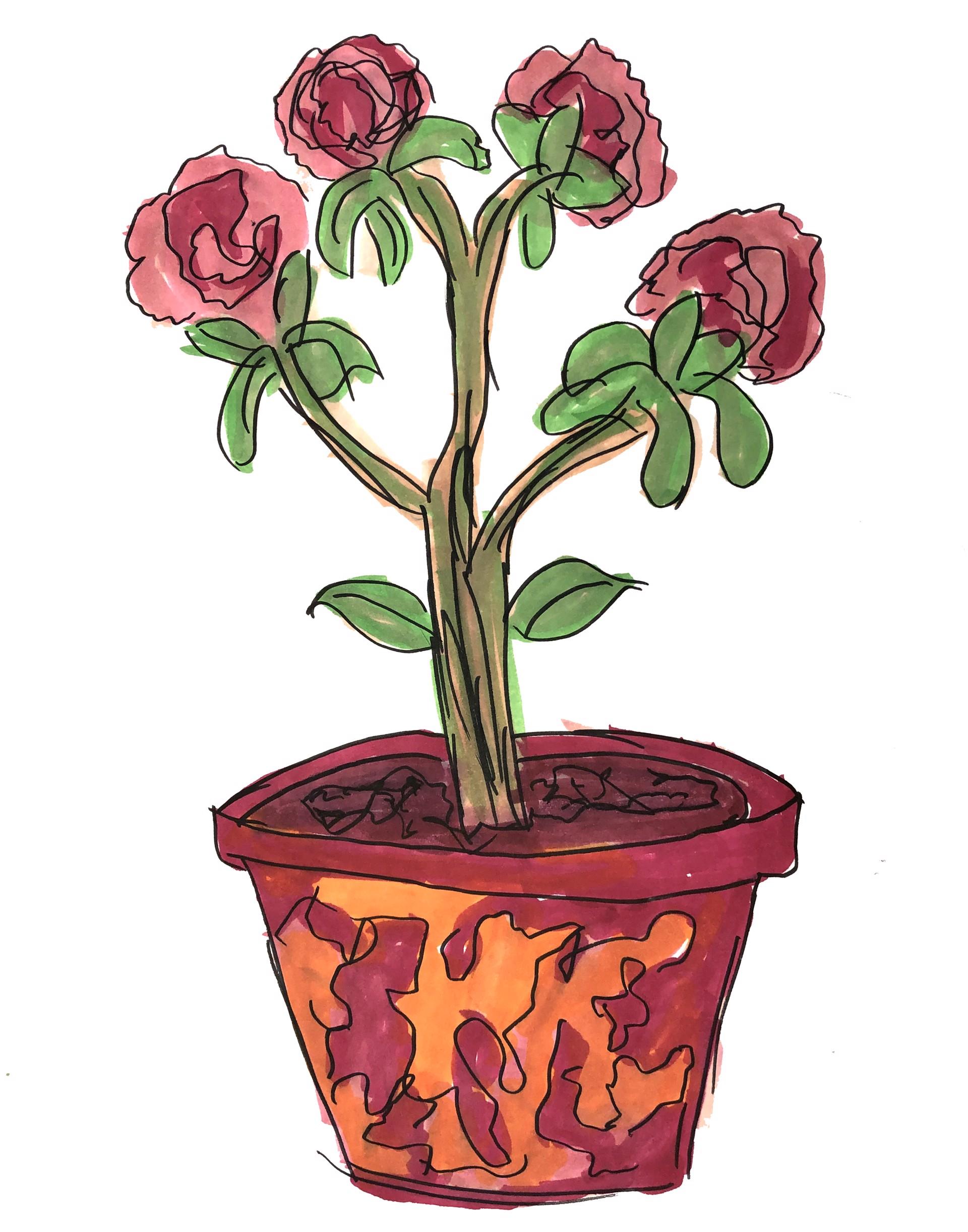 Flower Pot by Nonja Tiller