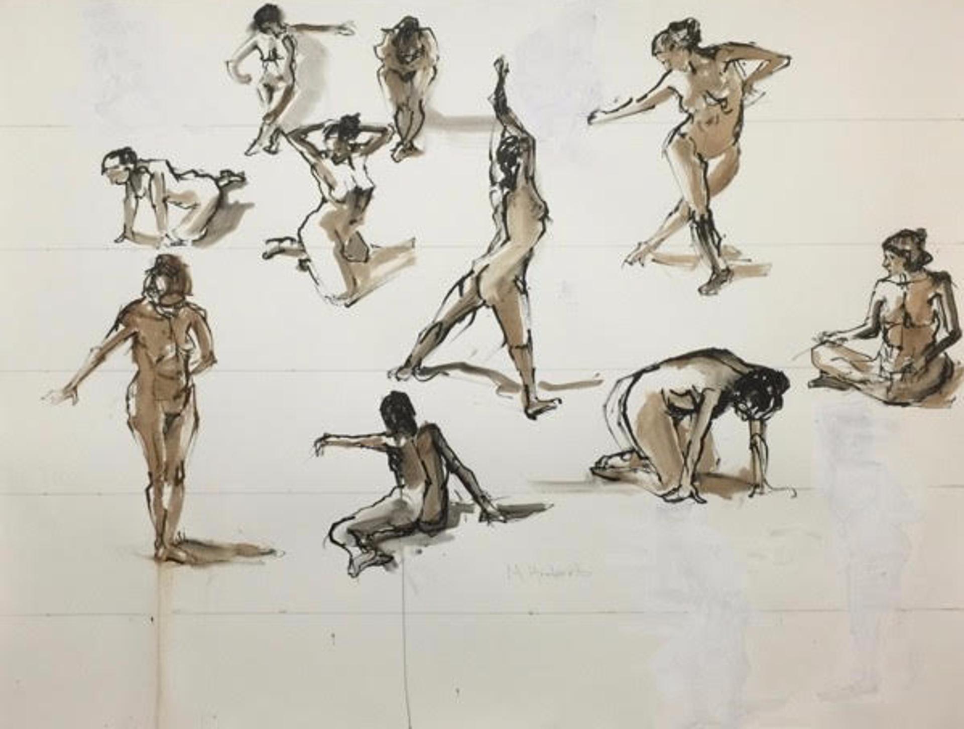 Ten Poses by Mimi Herbert