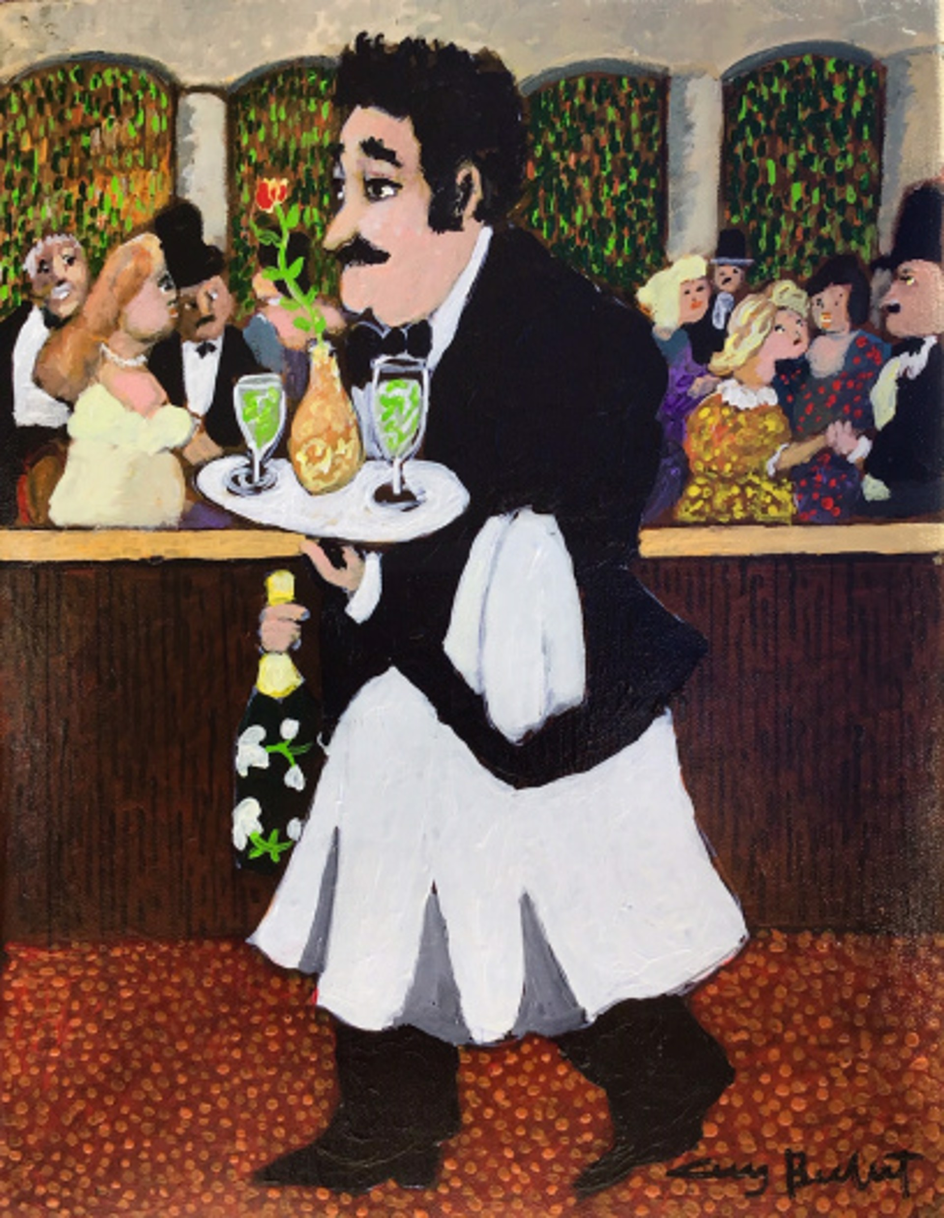 A Night At The Cabaret by Guy Buffet