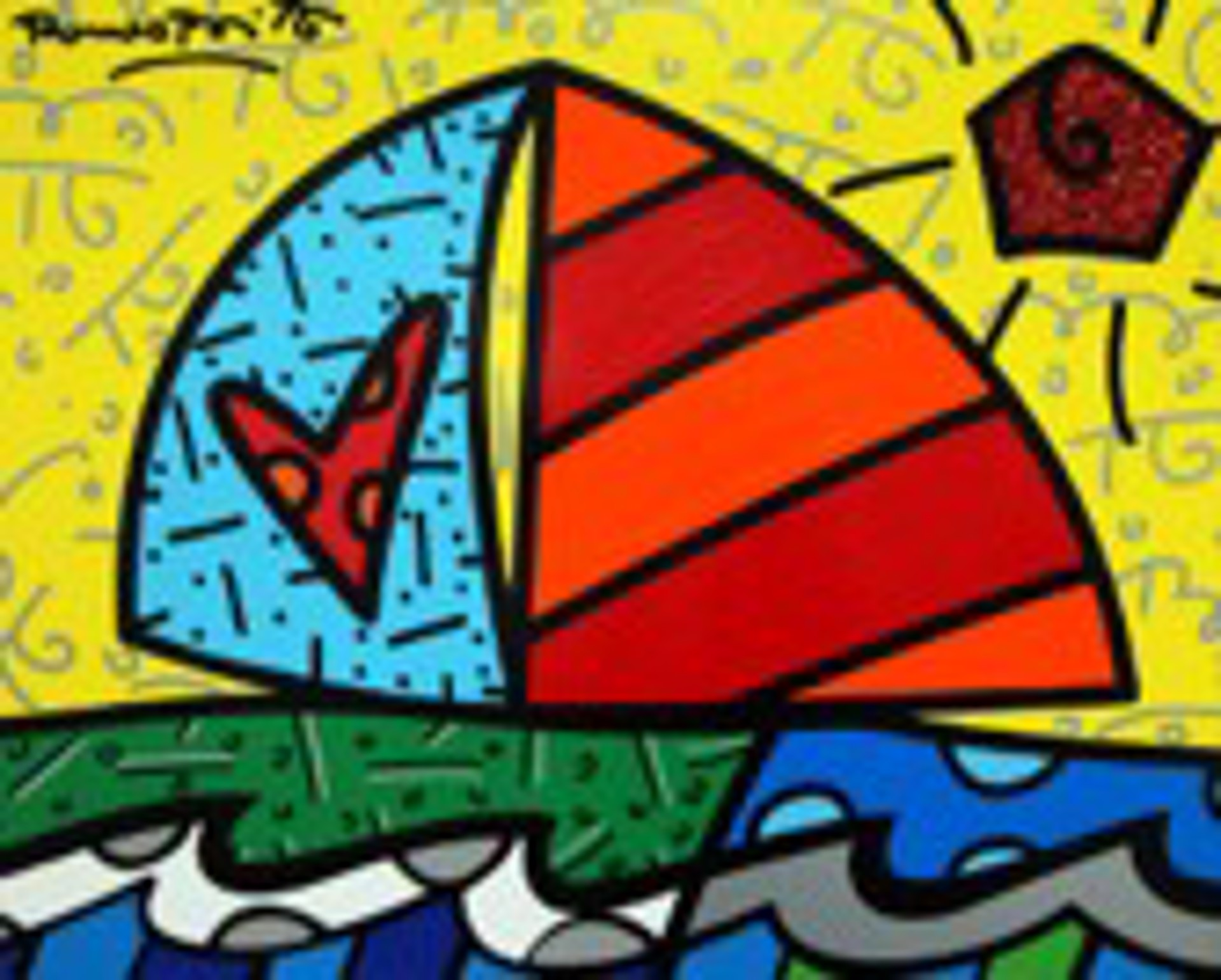 FROM THE ISLAND by Romero Britto