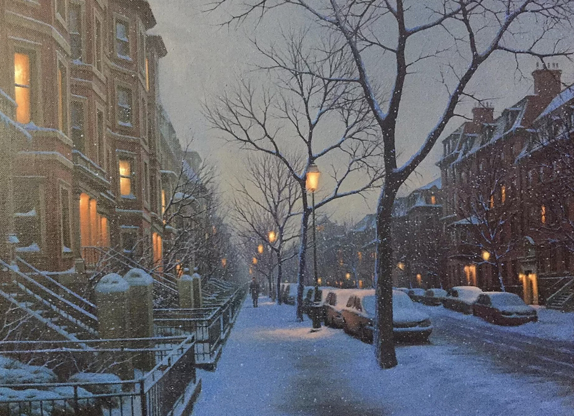 South Boston Flurries by Alexei Butirskiy