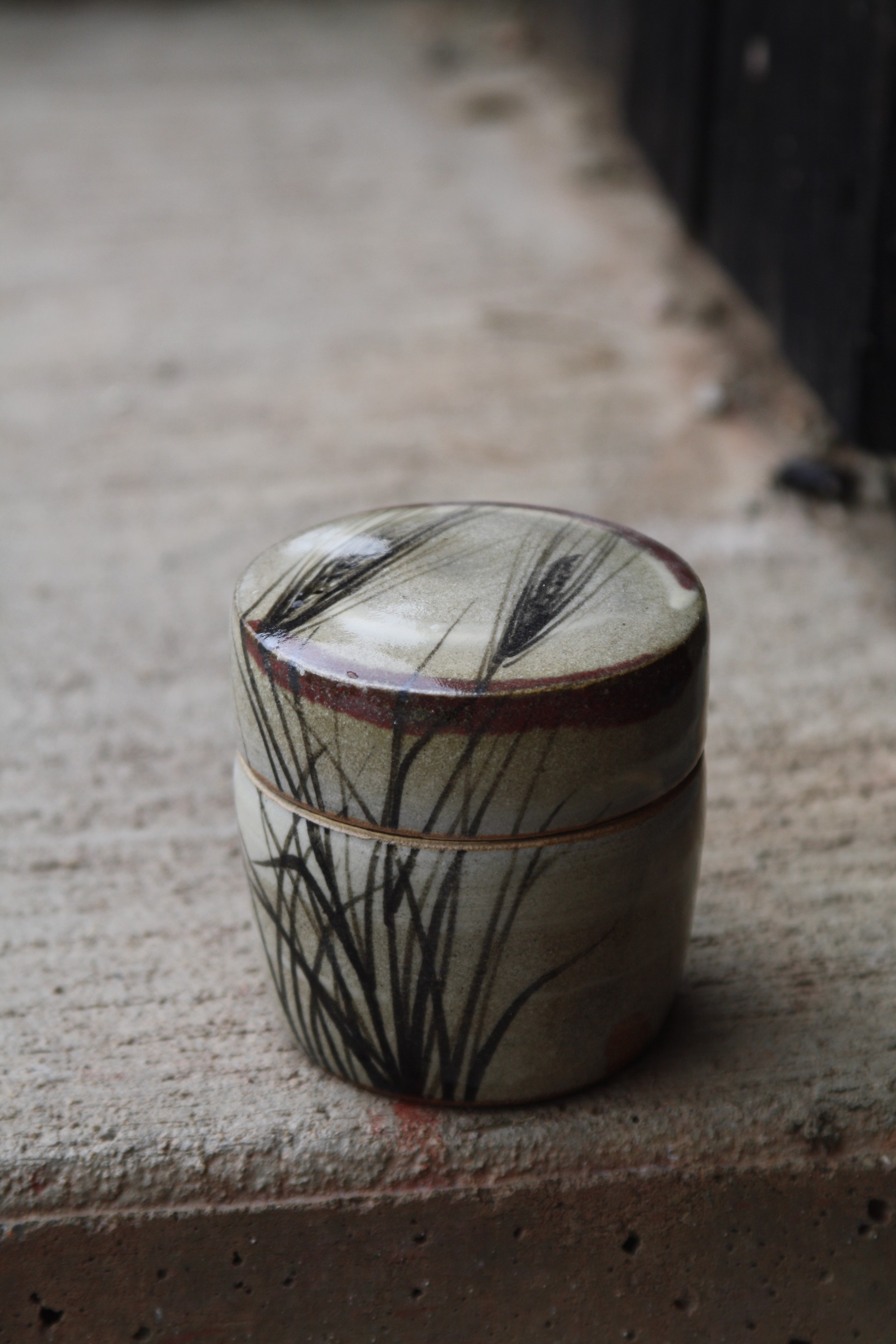 Lidded Jar by Betsy Williams