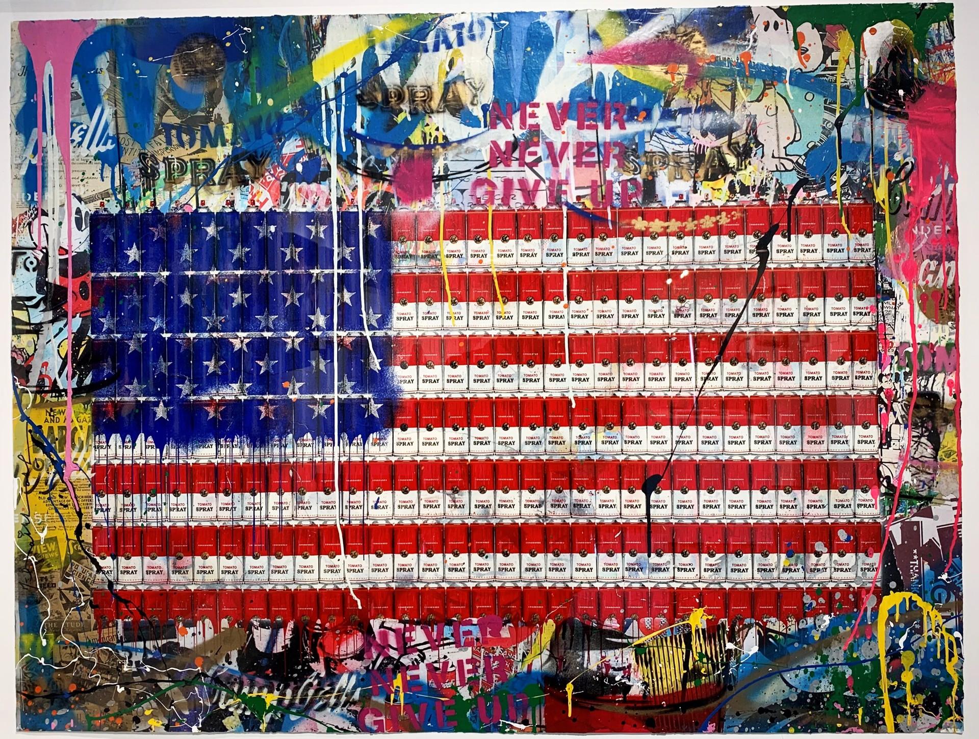 AmeriCan Dream by Mr. Brainwash (b. 1966)