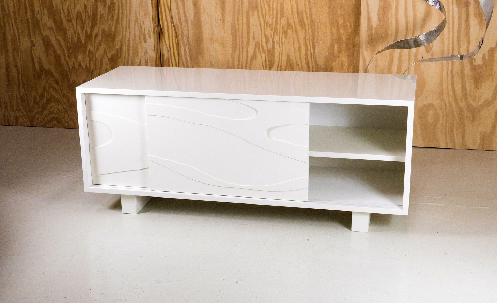 """Meanders"" Cabinet  by Jacques Jarrige"