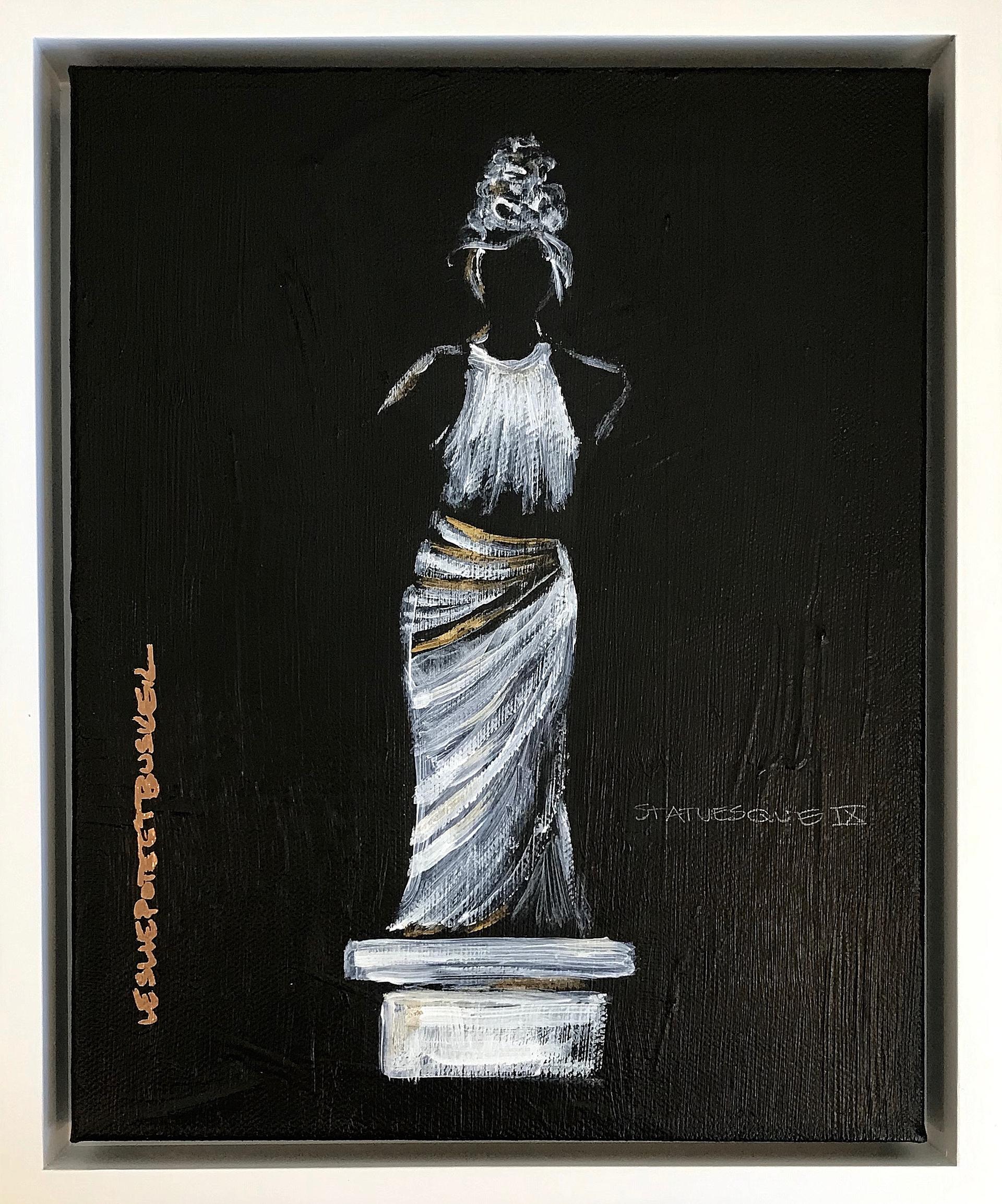 Statuesque IX by Leslie Poteet Busker