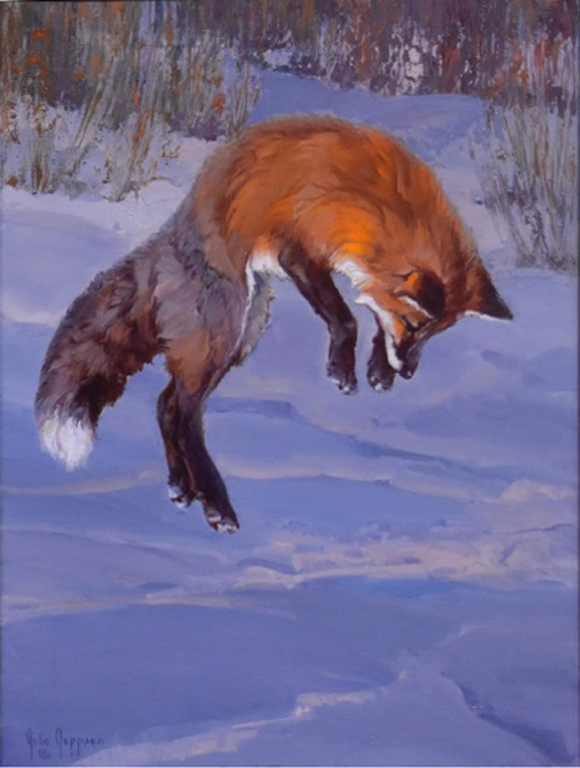 Snow Dive by Julie Jeppsen