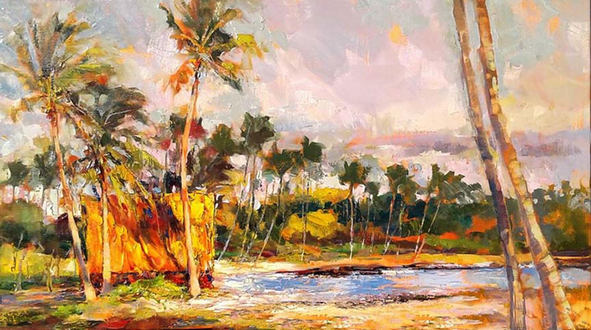 Hale At Mauna Lani by Rod Cameron