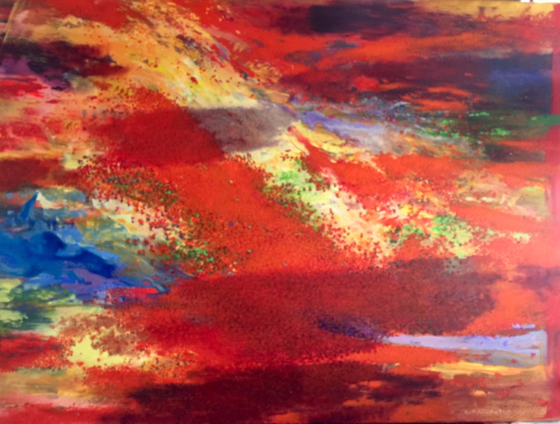 Passing Clouds (In The Poppy Field) by Andrea Razzauti