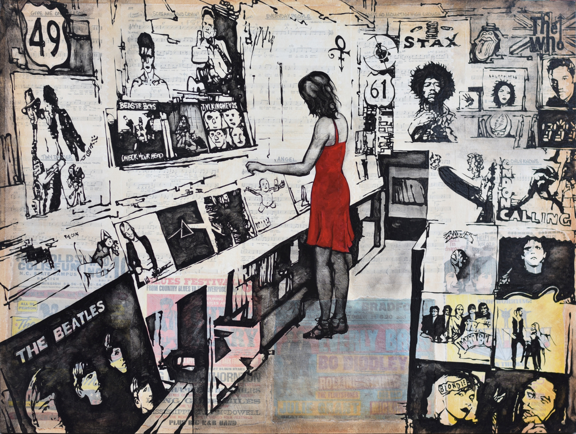 The Record Shop by Will Armstrong