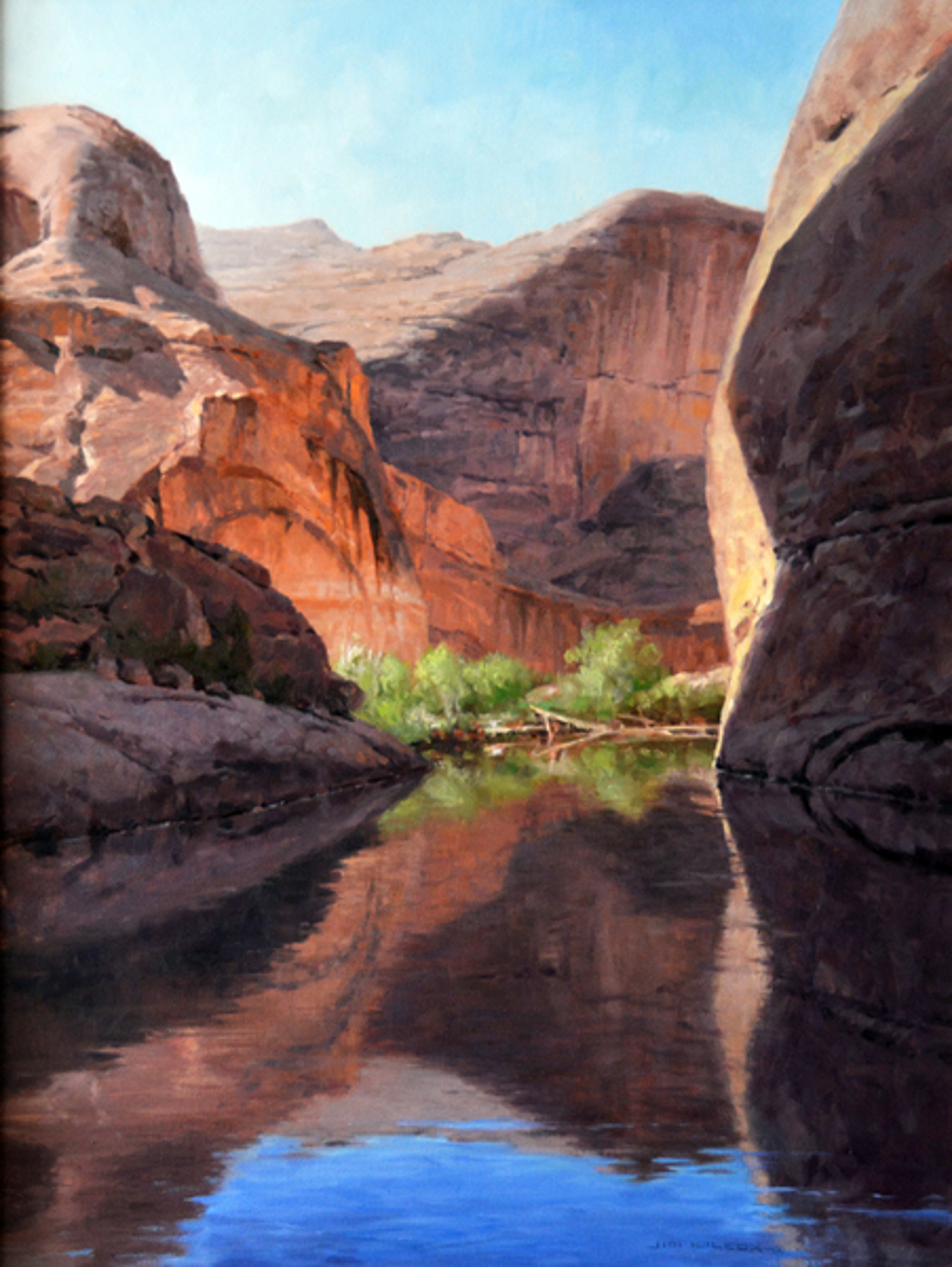 Reflections of Lake Powell by Jim Wilcox