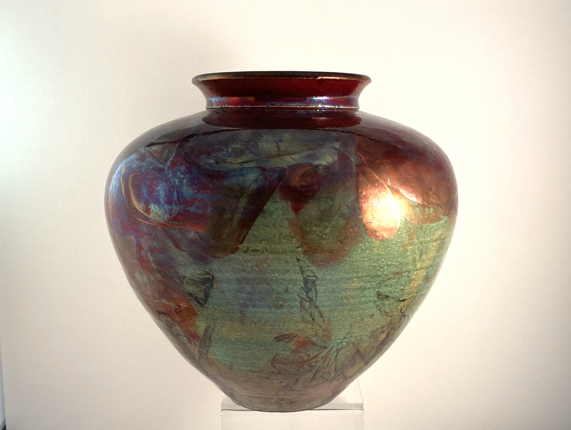 Pottery Vessel, #15 by Tim Tyler