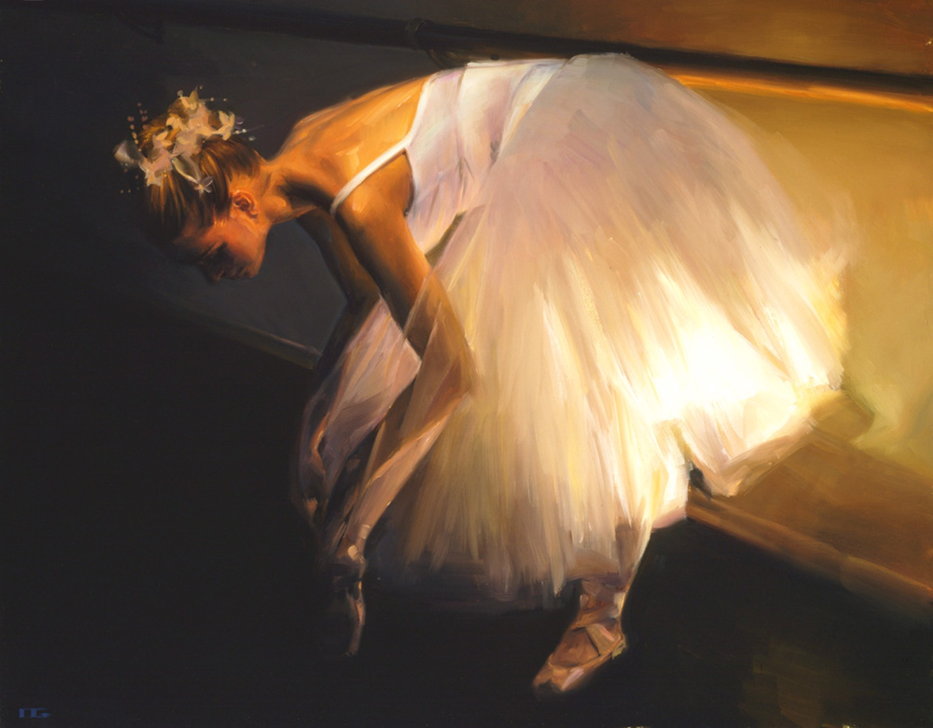Waiting for My Dansuer (S/N) by Carrie Graber