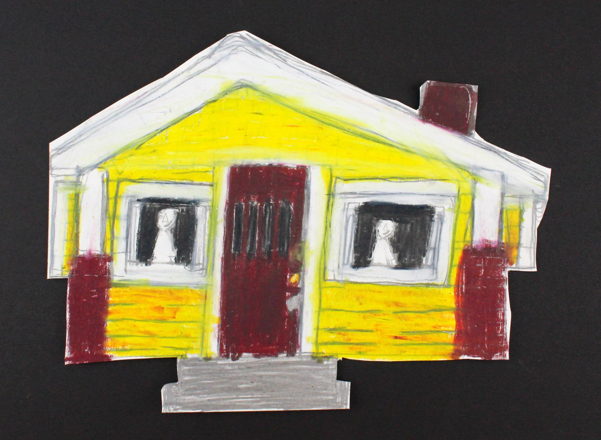 House (FRAMED) by Michael Haynes