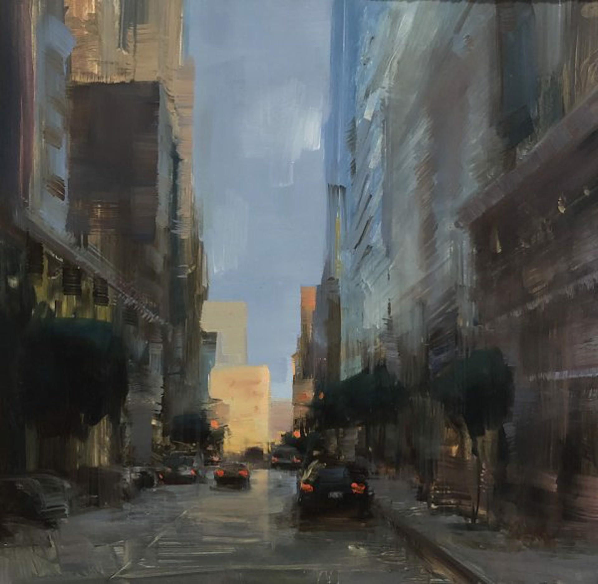 Bryan Mark Taylor: San Francisco Downtown by Bryan Mark Taylor