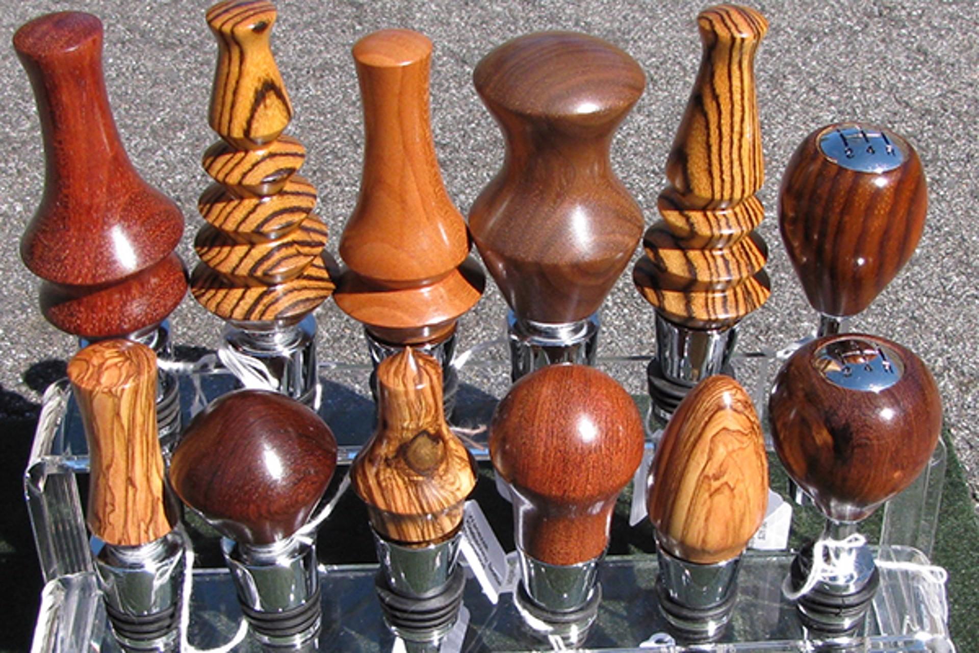 Bottle Stoppers by Bill Wanezek