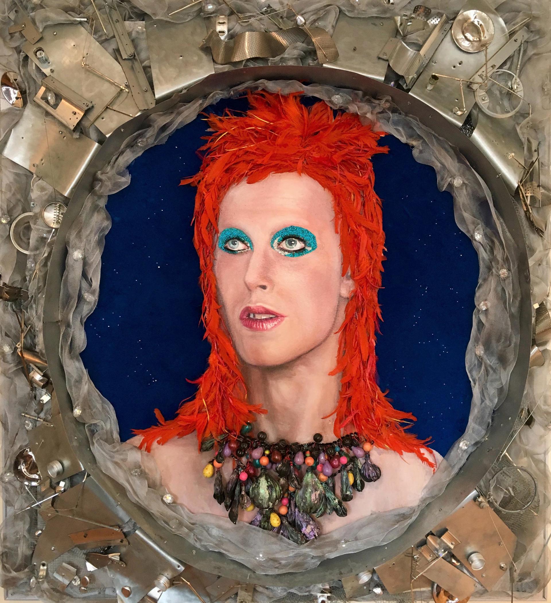 Bowie in Space  by StrosbergMandel