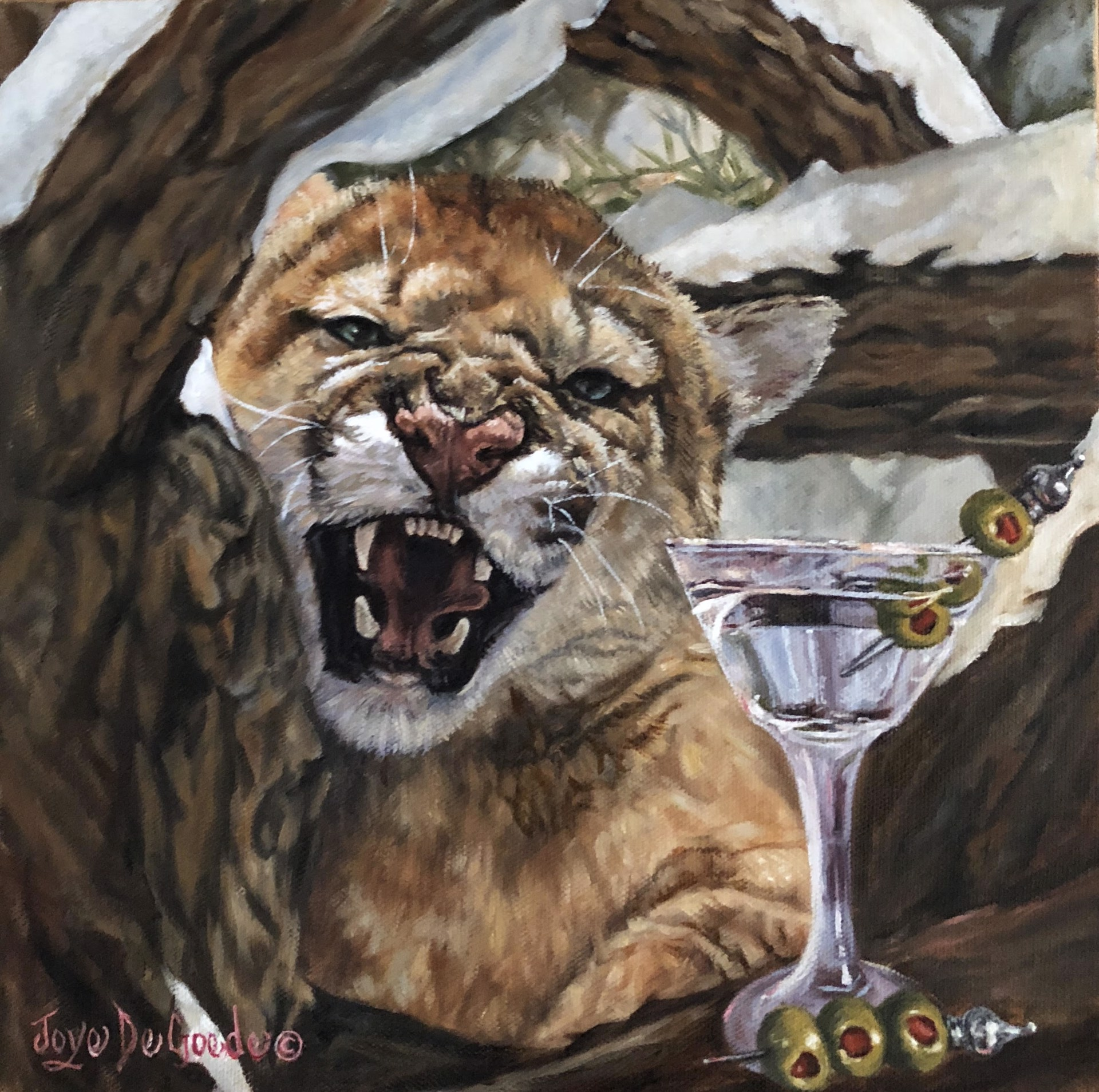 Cougar Bar, Last Call by Joye DeGoede