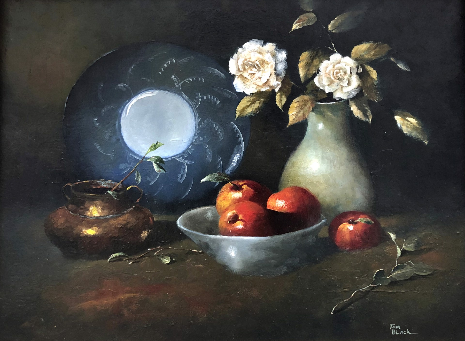 Still Life with Apples by Tom Black